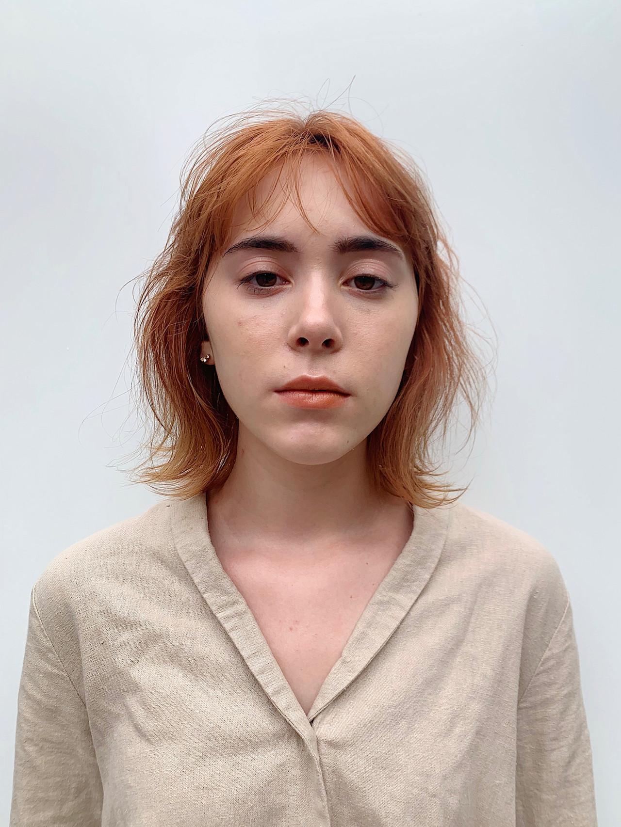 簡単ヘアアレンジ ナチュラル パーマ ボブ ヘアスタイルや髪型の写真・画像