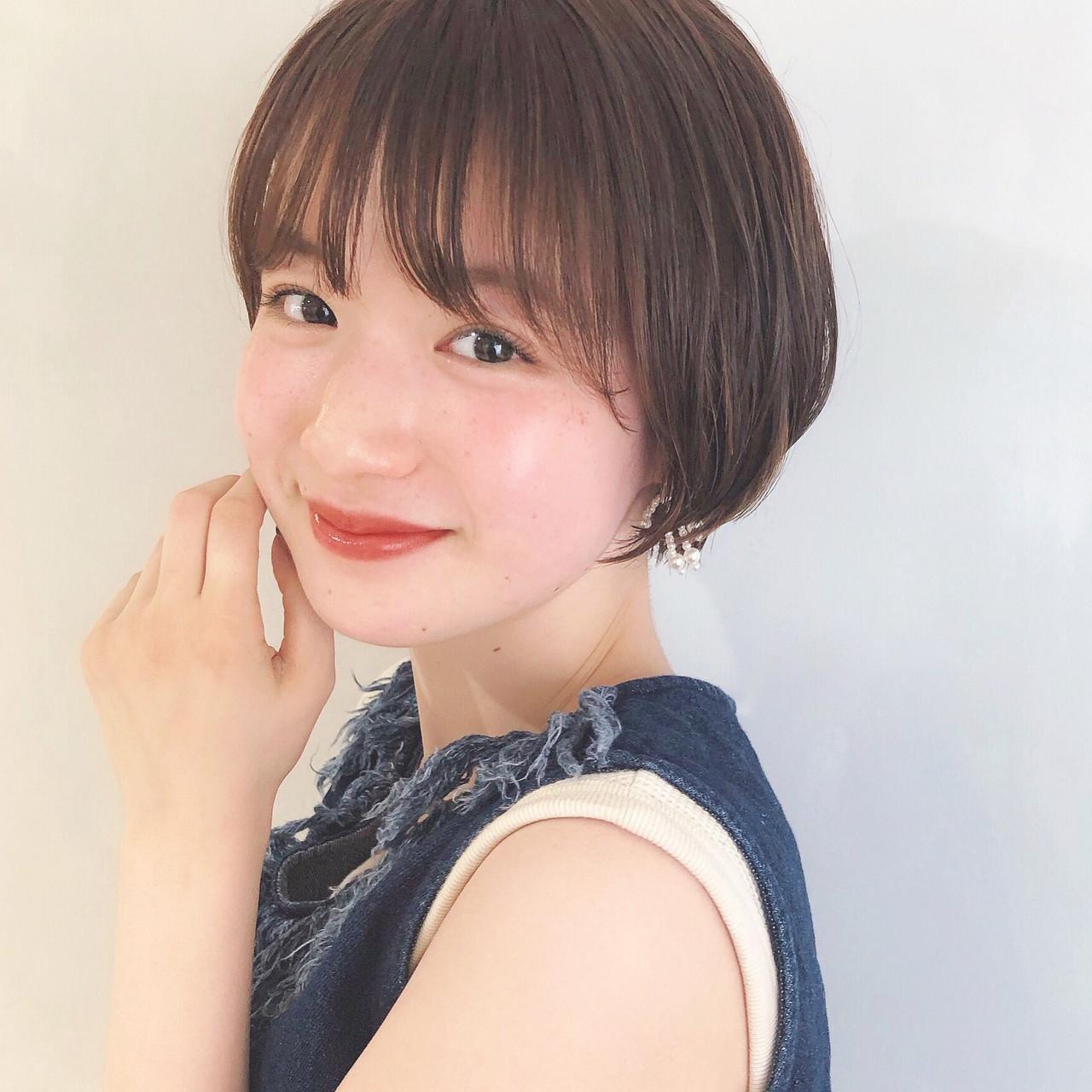 ヘアアレンジ ショートボブ ショート ショートヘア ヘアスタイルや髪型の写真・画像 | 豊田楓 GARDEN aoyama / GARDEN aoyama