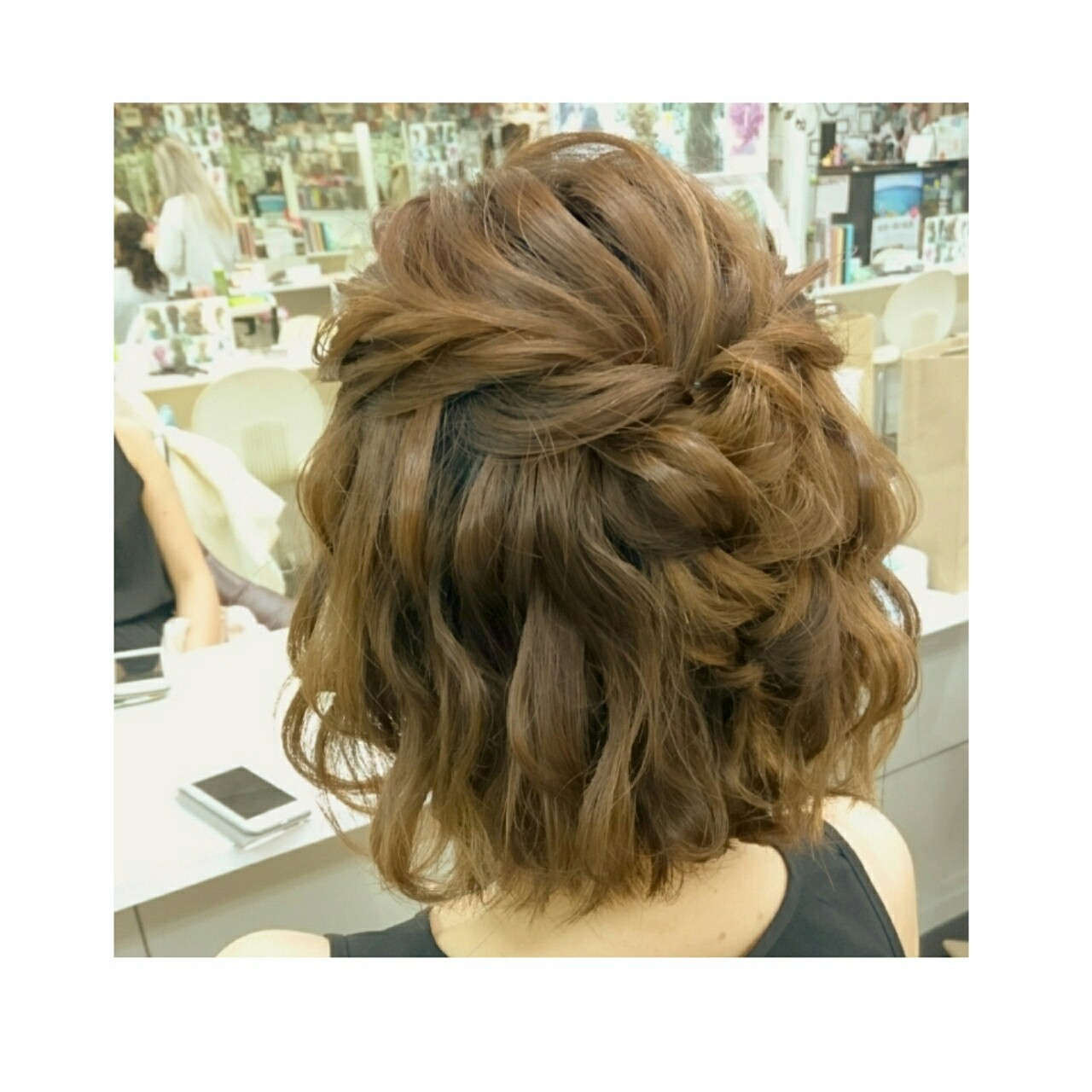 リラックス 簡単ヘアアレンジ ヘアアレンジ ナチュラル ヘアスタイルや髪型の写真・画像 | chisa* / CURE