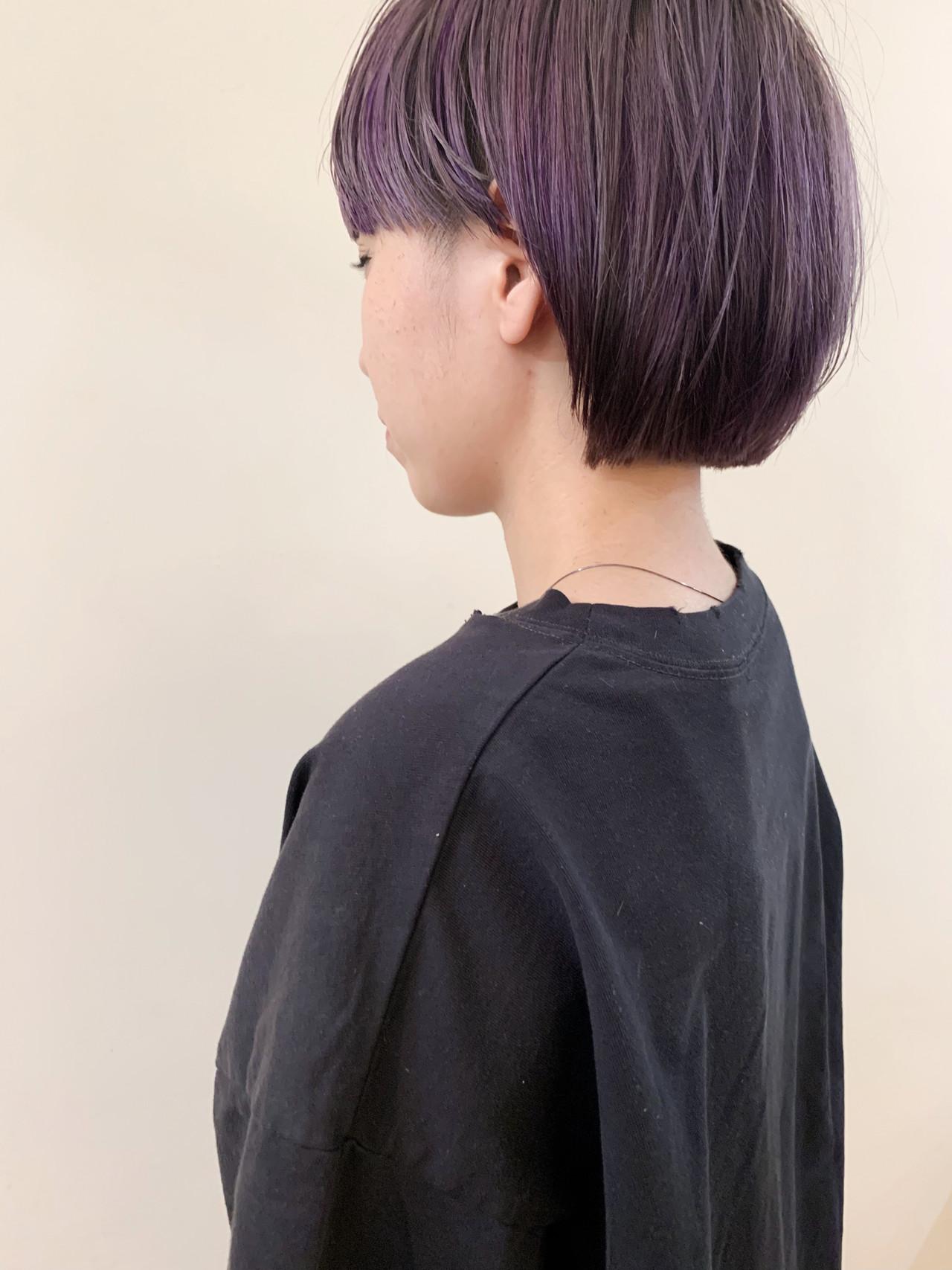 オフィス ショート アウトドア デート ヘアスタイルや髪型の写真・画像 | yumiko/sapporoSKNOW / SKNOW