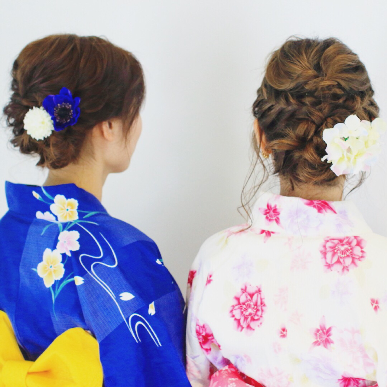 ヘアアレンジ ロング 花火大会 夏 ヘアスタイルや髪型の写真・画像