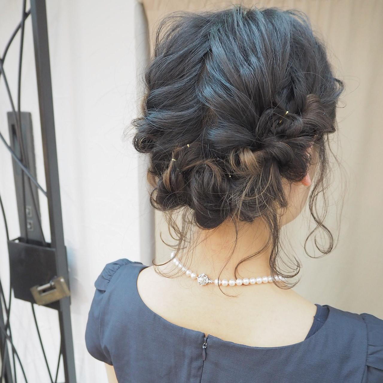 ヘアアレンジ ショート ボブ インナーカラー ヘアスタイルや髪型の写真・画像 | 宮迫 真美 / airfeel