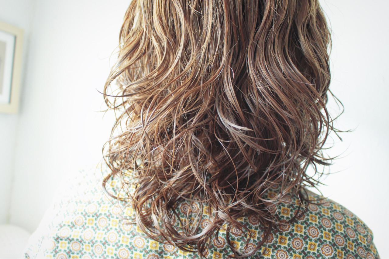 ナチュラル セミロング 簡単 簡単ヘアアレンジ ヘアスタイルや髪型の写真・画像 | creap / creap