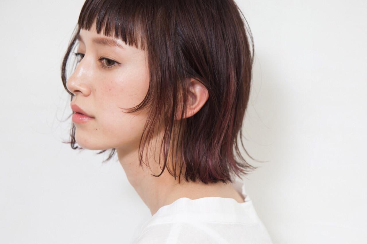 ヘアアレンジ オフィス ボブ 女子会 ヘアスタイルや髪型の写真・画像 | 三好 佳奈美 / Baco.(バコ)