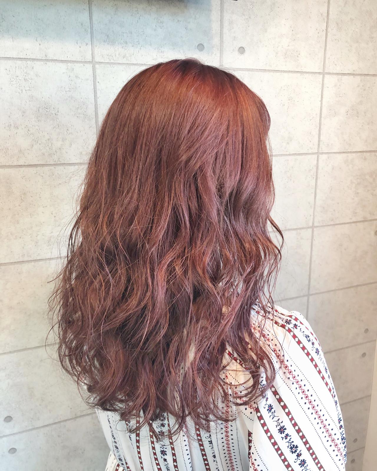 セミロング クリーミーカラー ラベンダーピンク ピンクラベンダー ヘアスタイルや髪型の写真・画像