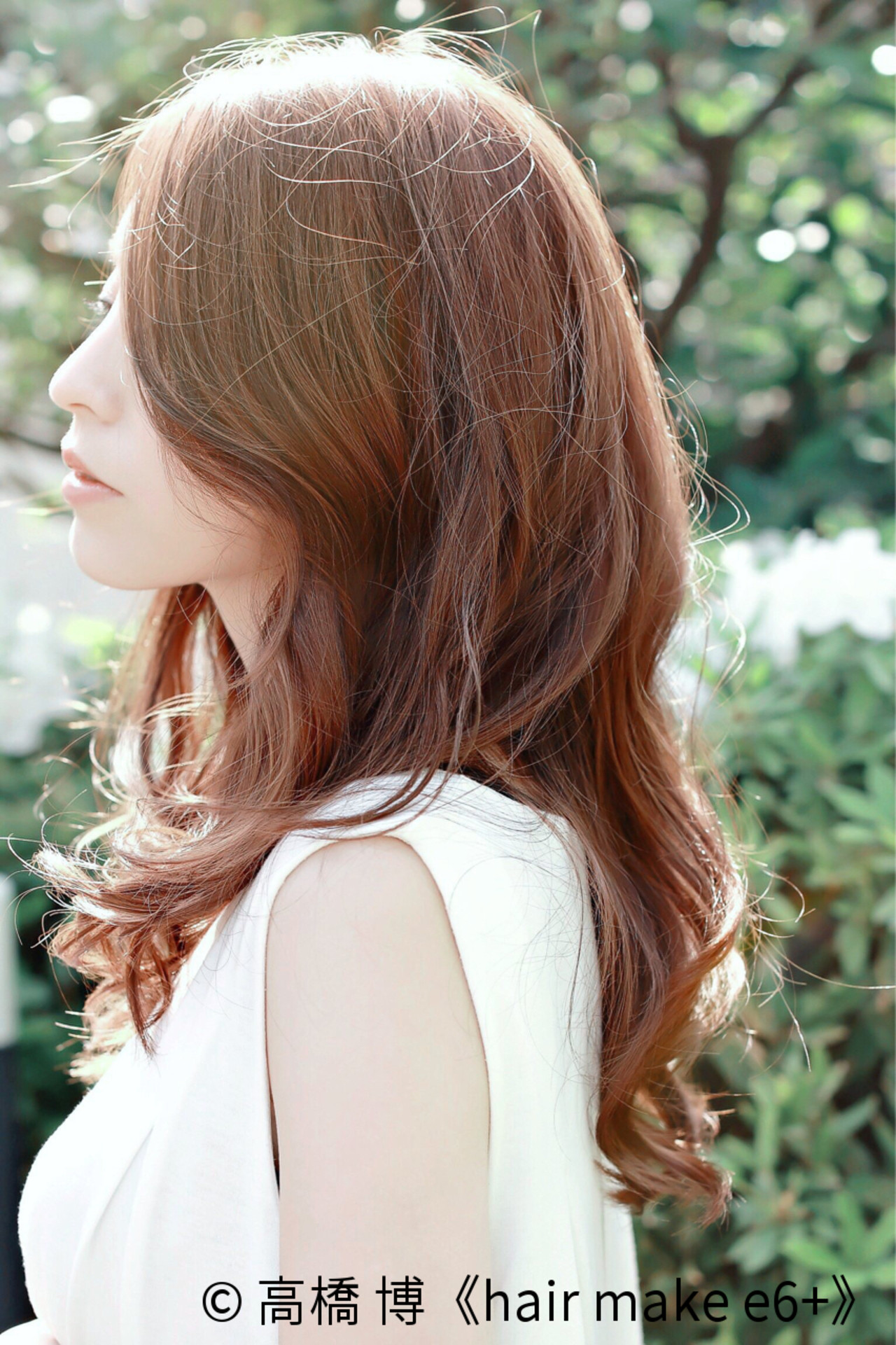 パーマ ベージュ ゆるふわ フェミニン ヘアスタイルや髪型の写真・画像