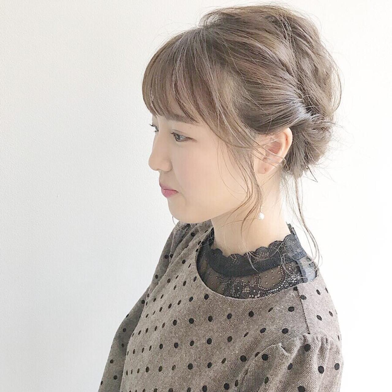 成人式 サロンモデル ヘアアレンジ ガーリー 江原 栞莉 442778 Hair