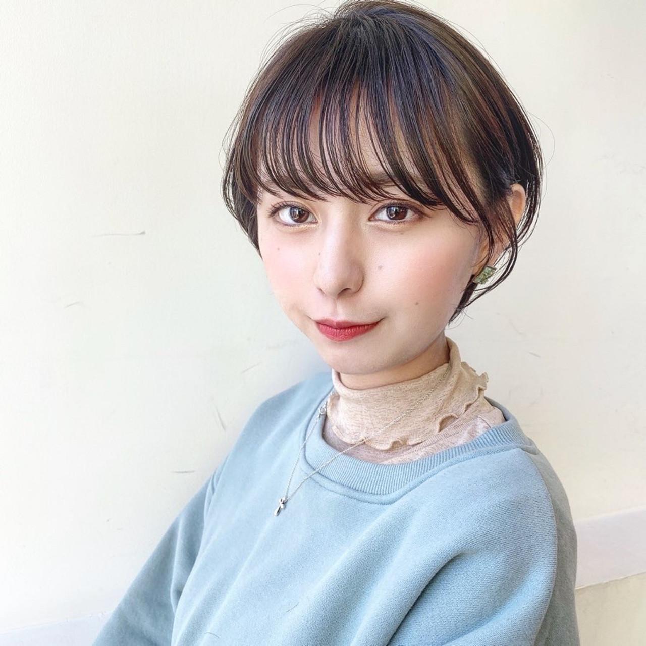 マッシュショート ナチュラル グレージュ ショート ヘアスタイルや髪型の写真・画像   矢野佑太郎 / GARDEN harajuku