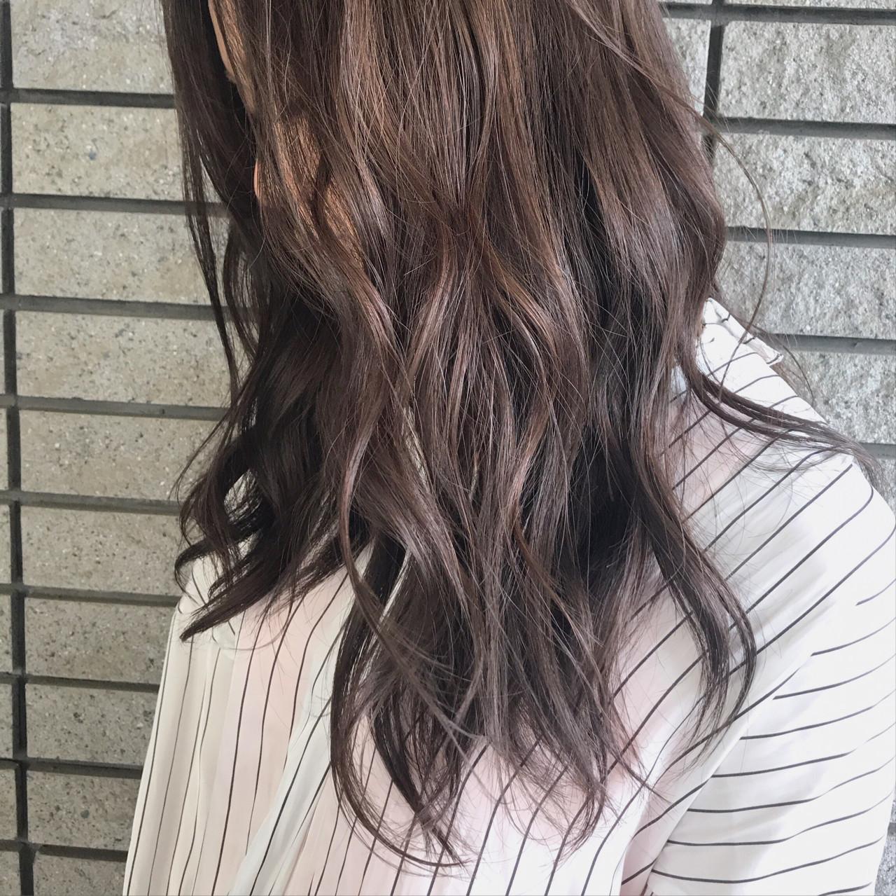 秋 モーブ 冬 外国人風カラー ヘアスタイルや髪型の写真・画像