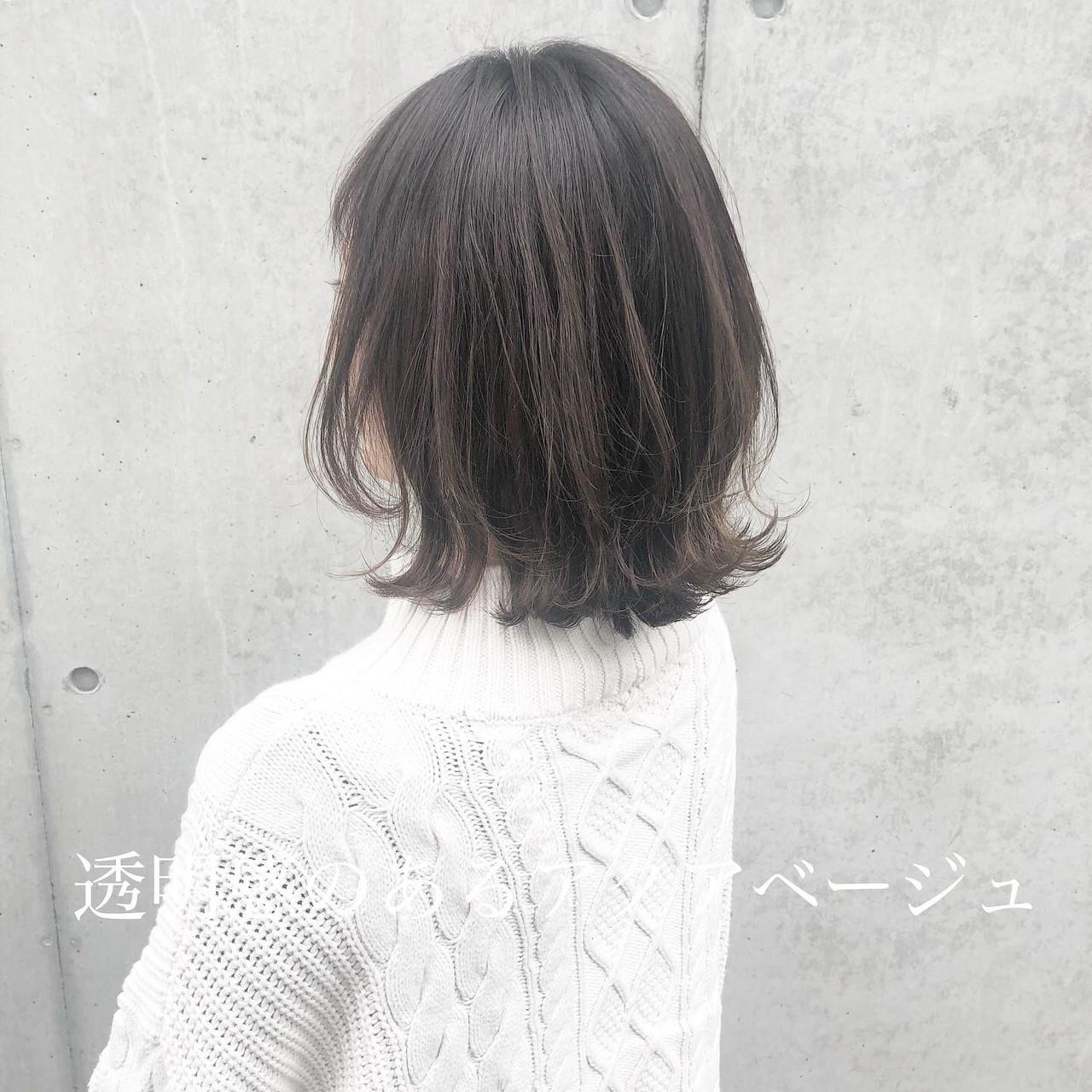 外ハネボブ ウルフカット 切りっぱなしボブ 前下がりボブ ヘアスタイルや髪型の写真・画像 | 高田 興 / レジーロ