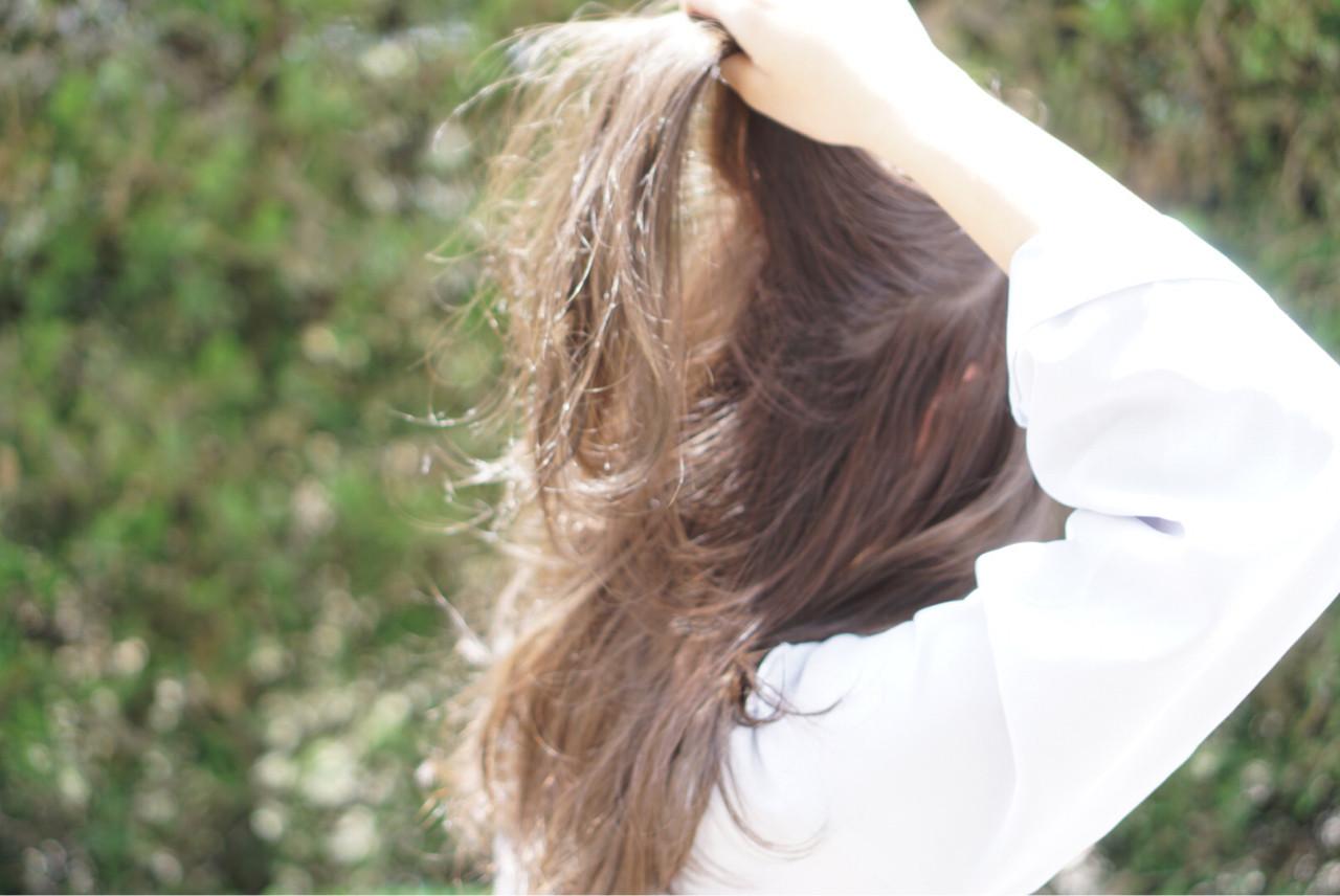 ナチュラル ロング 透明感 外国人風カラー ヘアスタイルや髪型の写真・画像