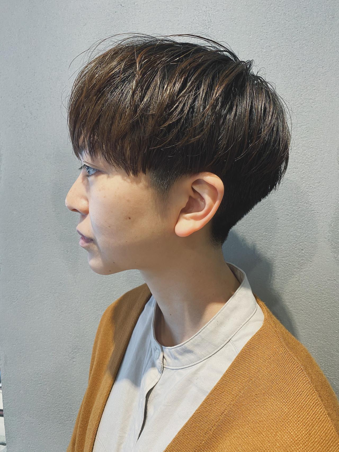 マッシュヘア マッシュ ショートマッシュ マッシュショート ヘアスタイルや髪型の写真・画像 | 松本 健 / KHAKI