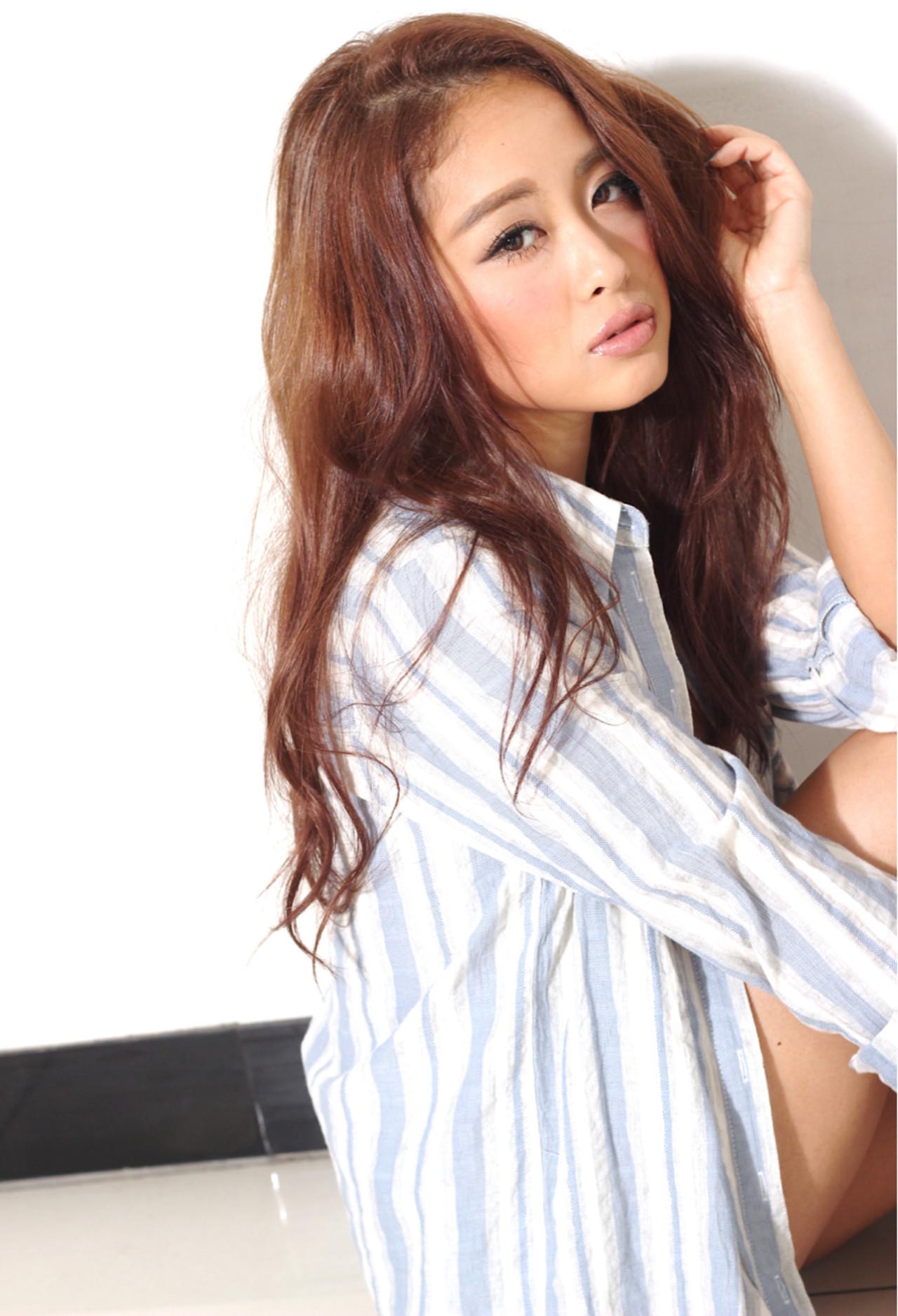 かっこいい ゆるふわ 大人かわいい フェミニン ヘアスタイルや髪型の写真・画像 | 神 雄介 / ZEST立川南口店