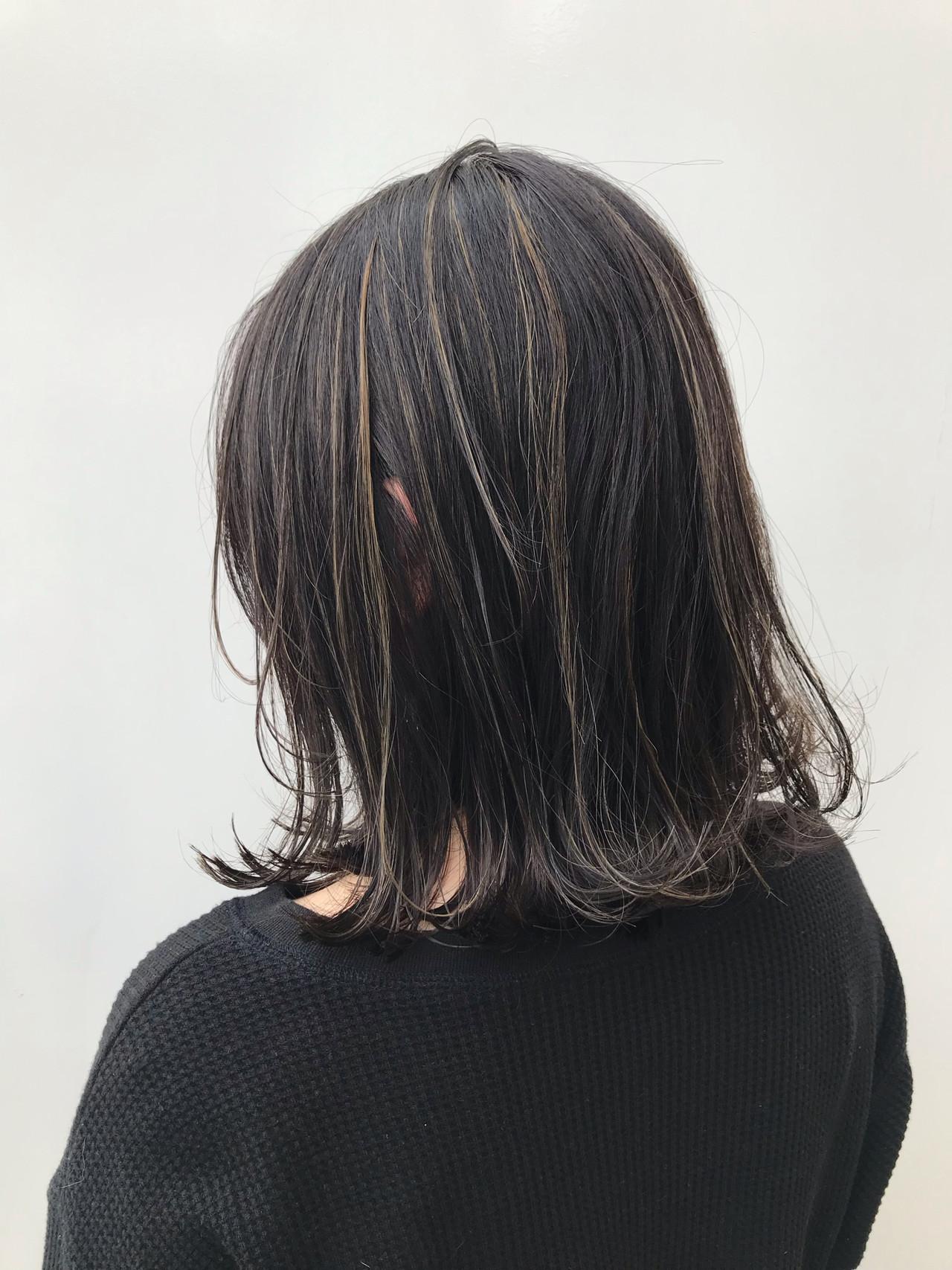 外ハネ ボブ 女子力 大人女子 ヘアスタイルや髪型の写真・画像   HIROKI / roijir / roijir
