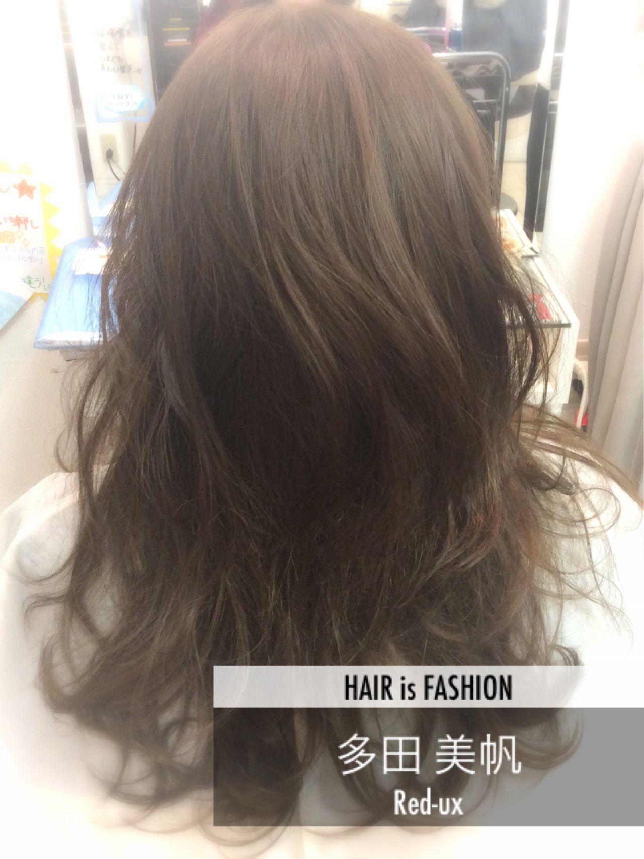 外国人風 グラデーションカラー アッシュ ストリート ヘアスタイルや髪型の写真・画像