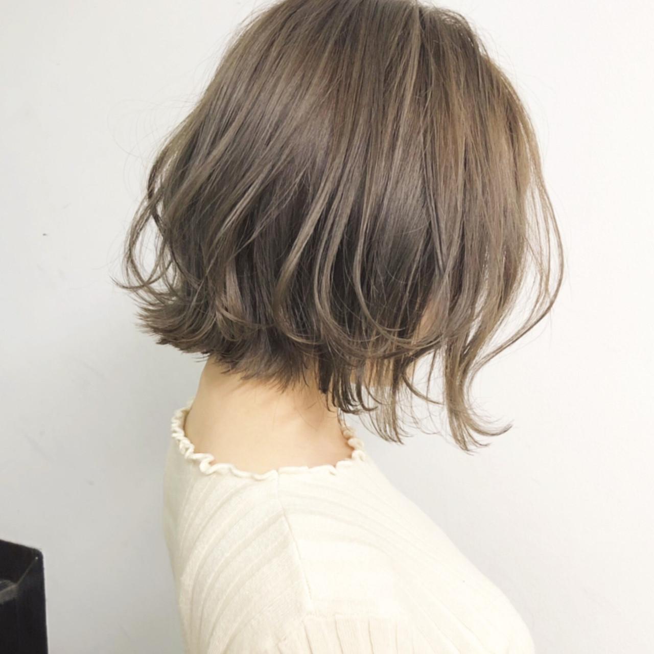 ボブ 簡単ヘアアレンジ デート アンニュイほつれヘア ヘアスタイルや髪型の写真・画像