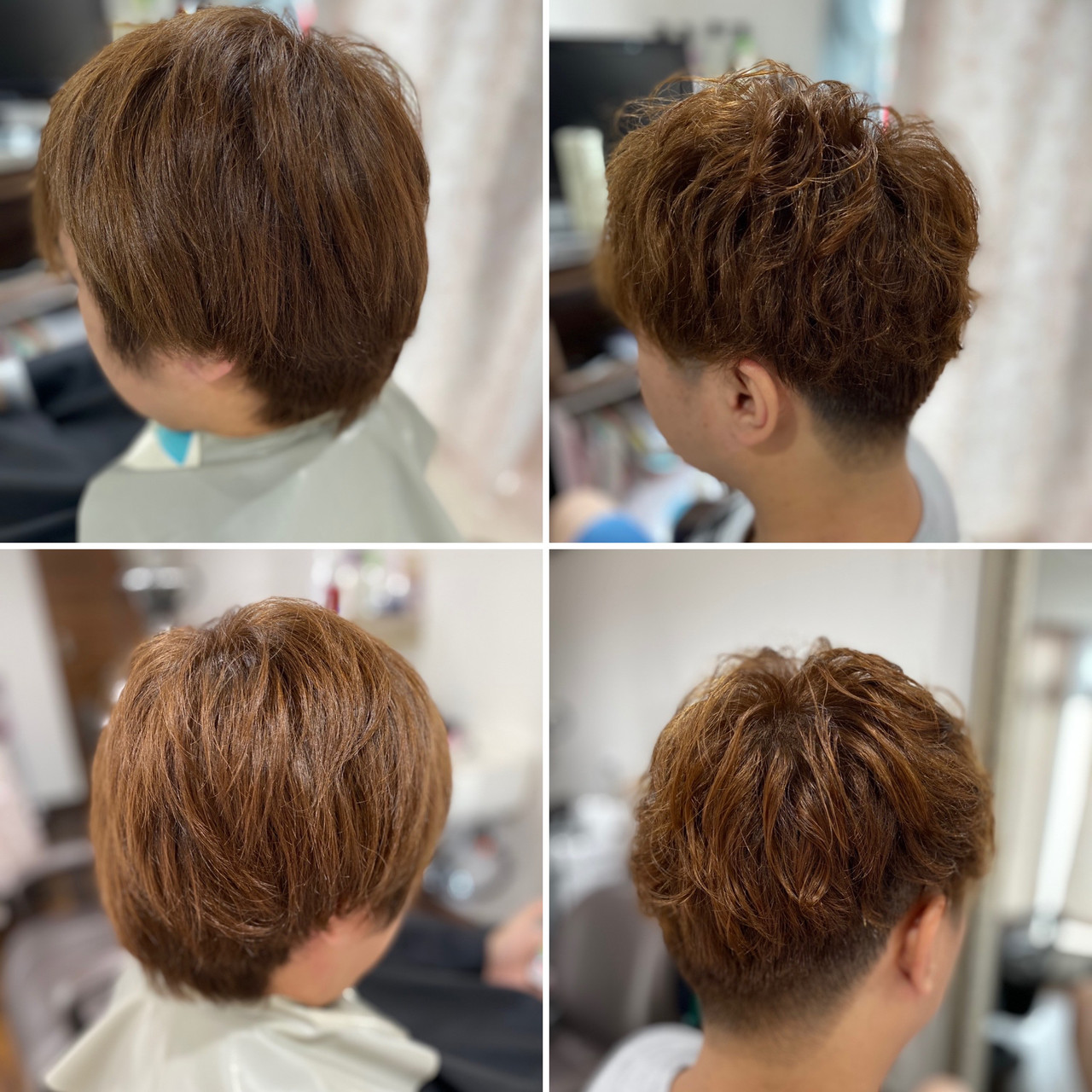 ストリート ベリーショート ショート メンズパーマ ヘアスタイルや髪型の写真・画像   エイ / aime