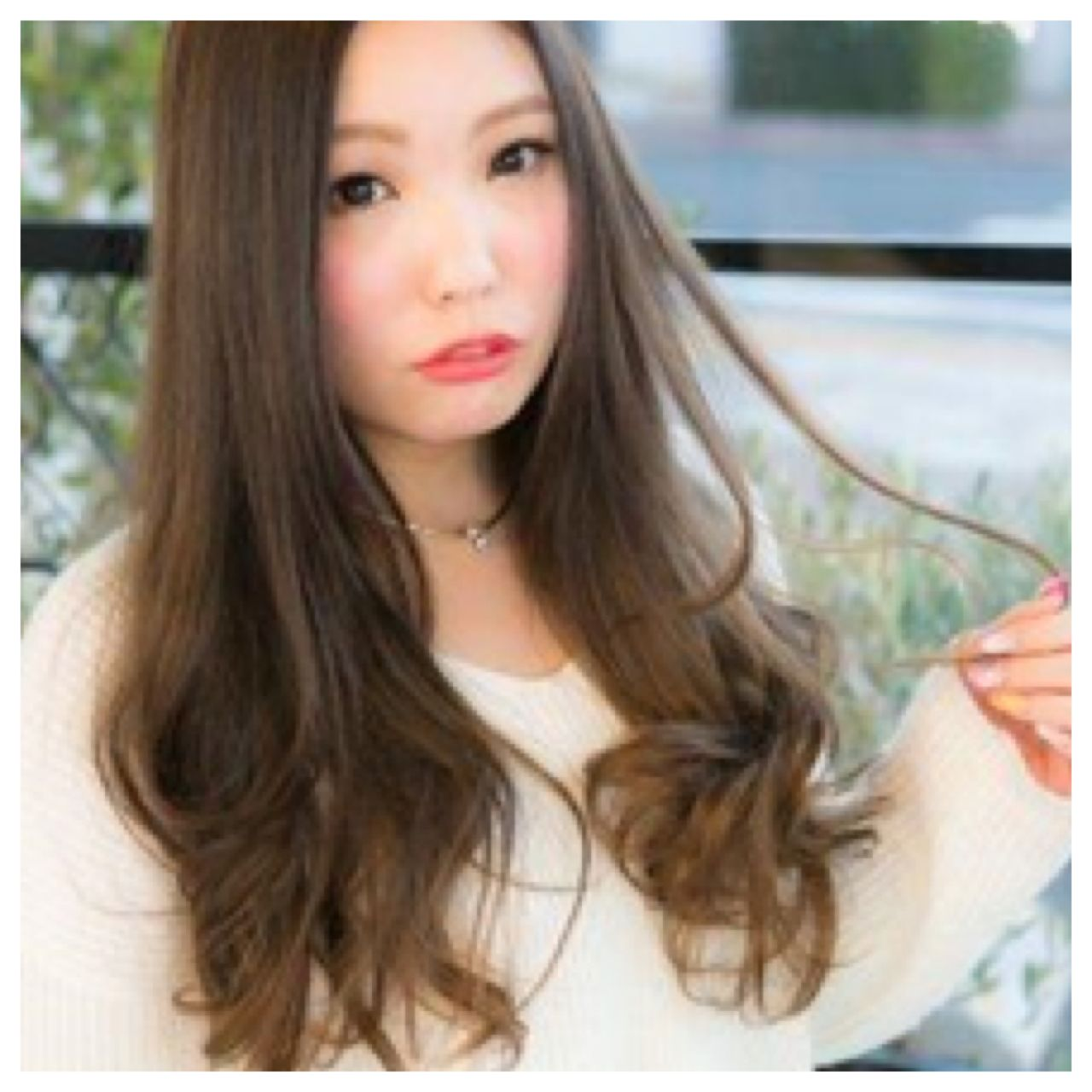 ロング モテ髪 グラデーションカラー ストリート ヘアスタイルや髪型の写真・画像