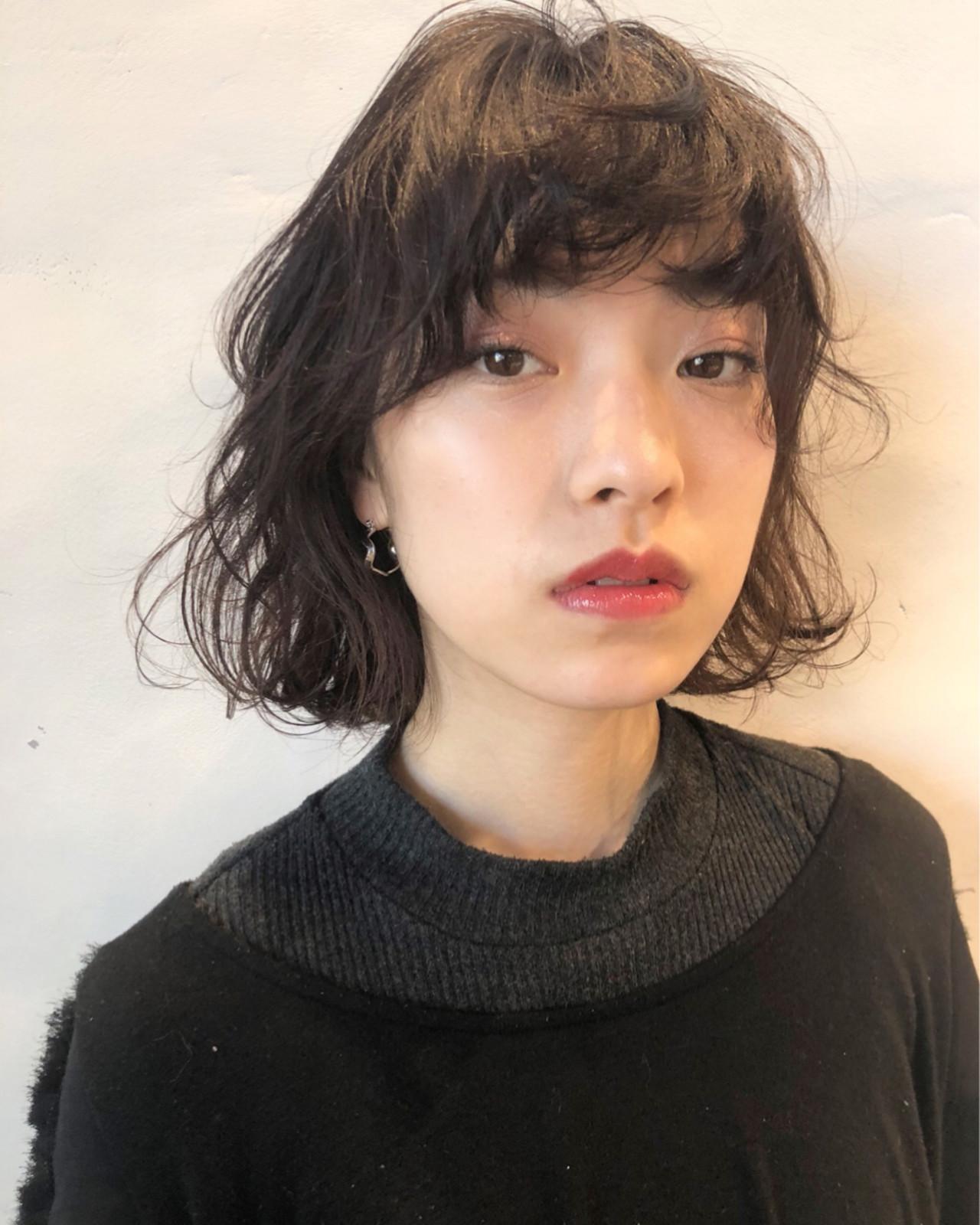 透明感 アンニュイ オフィス ナチュラル ヘアスタイルや髪型の写真・画像