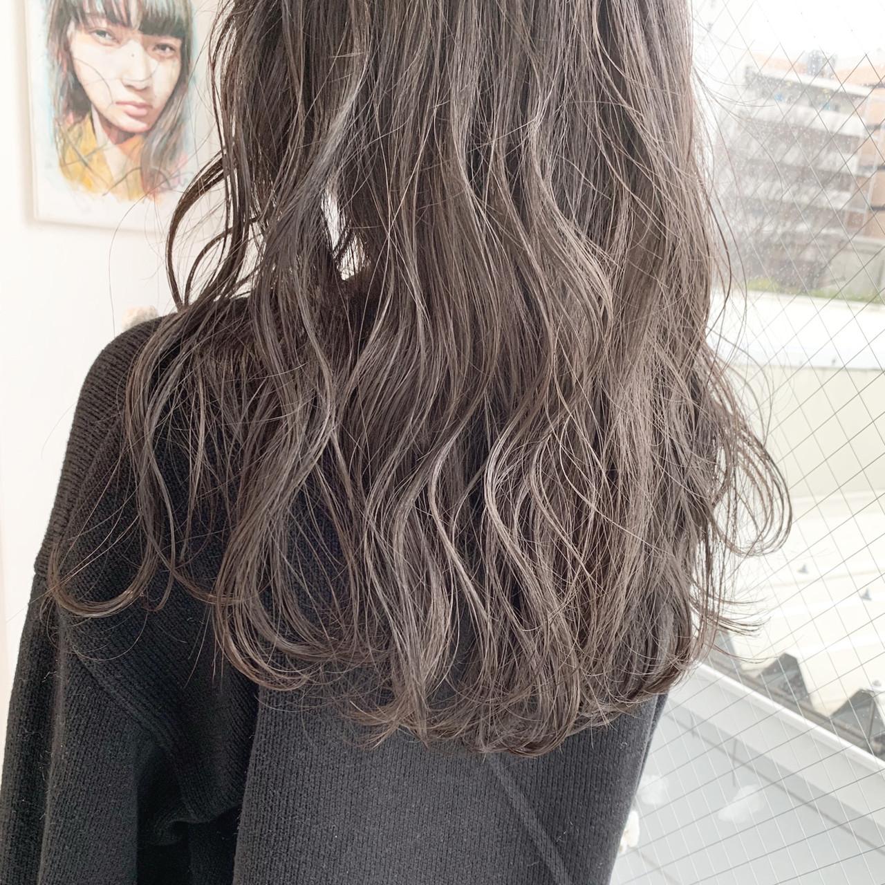 外国人風カラー アンニュイほつれヘア 簡単ヘアアレンジ ナチュラル ヘアスタイルや髪型の写真・画像