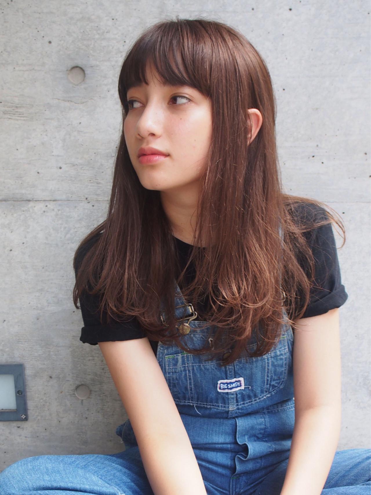 大人女子 セミロング 外国人風 ストリート ヘアスタイルや髪型の写真・画像 | 一色 さおり / LOAVE AOYAMA(ローブ アオヤマ)