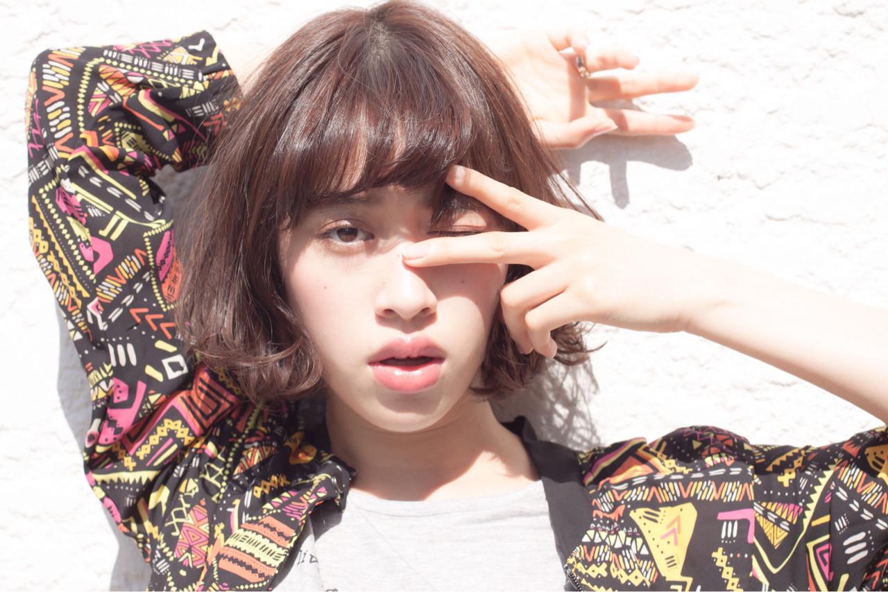 ナチュラル 外国人風 ボブ モテ髪 ヘアスタイルや髪型の写真・画像   日野 達也 / GO TODAY  SHAiRE SALON