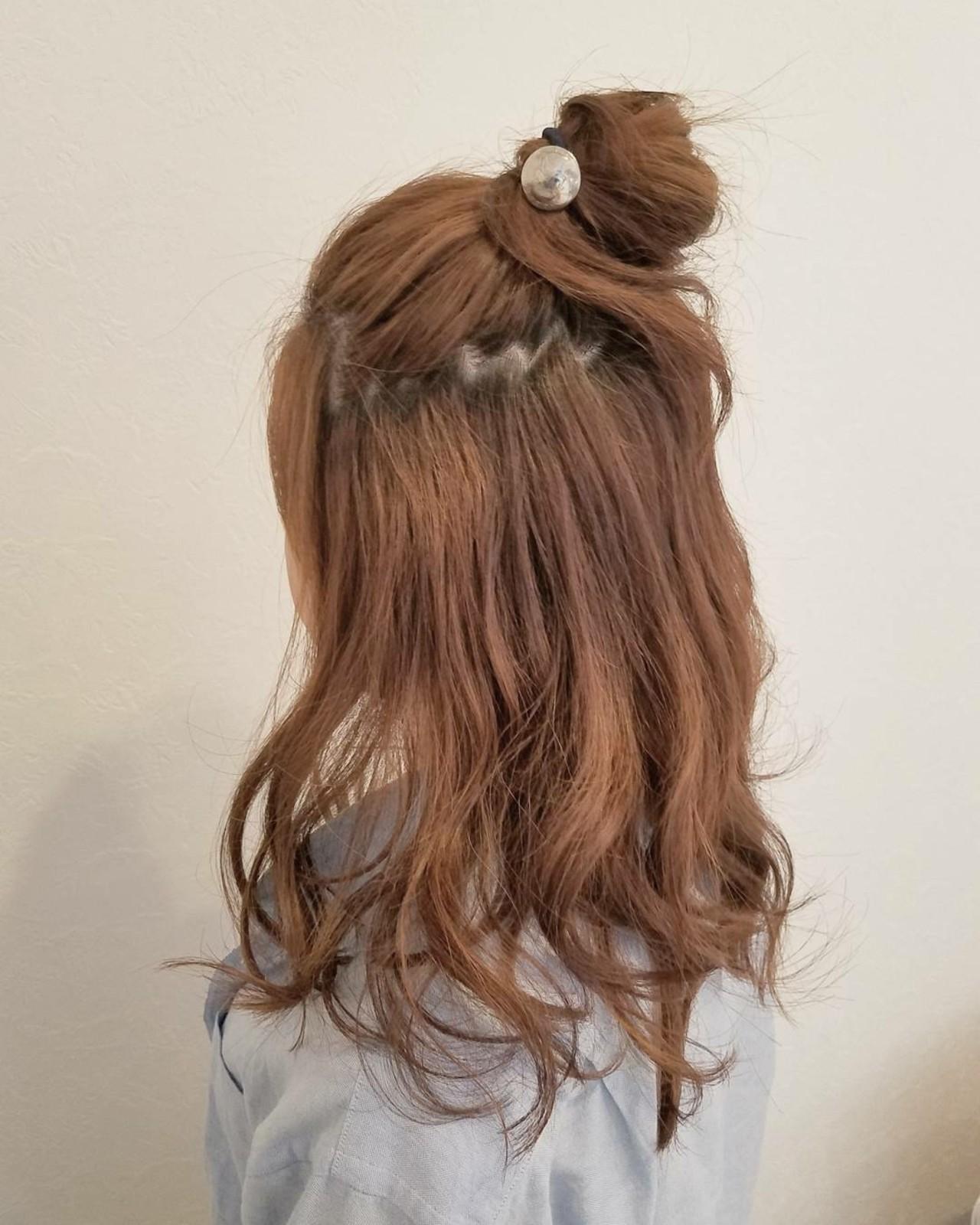 ショート デート ヘアアレンジ 簡単ヘアアレンジ ヘアスタイルや髪型の写真・画像