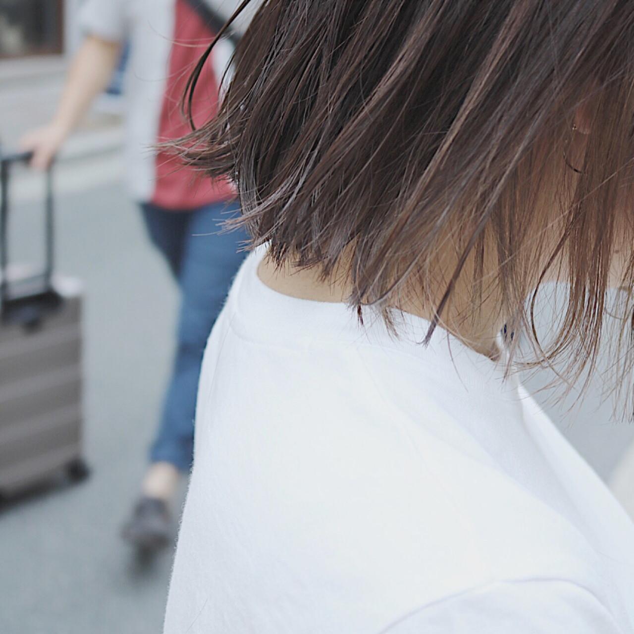 イルミナカラー ナチュラル 透明感 インナーカラー ヘアスタイルや髪型の写真・画像