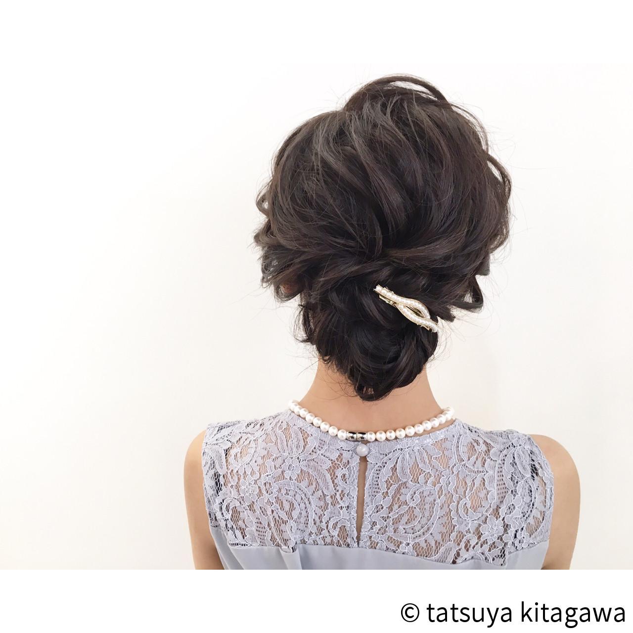 上品 外国人風 ヘアアレンジ アップスタイル ヘアスタイルや髪型の写真・画像