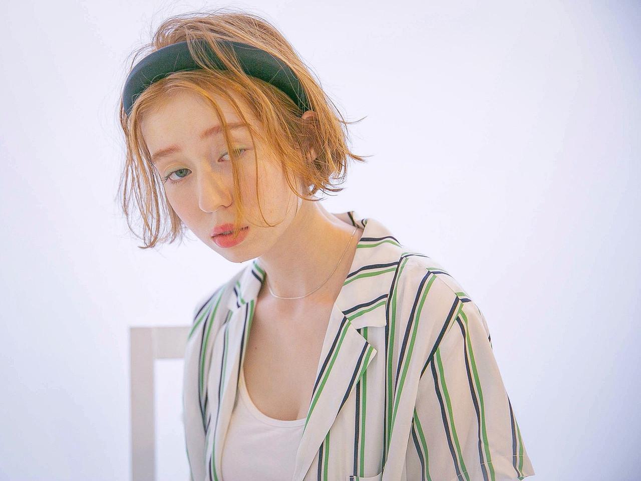 パーマ ボブ デート 簡単ヘアアレンジ ヘアスタイルや髪型の写真・画像 | 山口 卓哉/earth北浦和店 / Hair&Make EARTH北浦和店