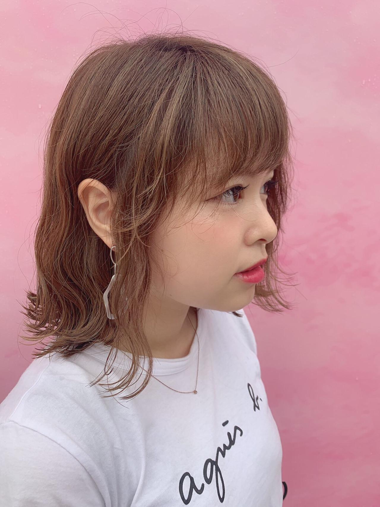 ナチュラル デート ボブ ヘアアレンジ ヘアスタイルや髪型の写真・画像 | さっさー /