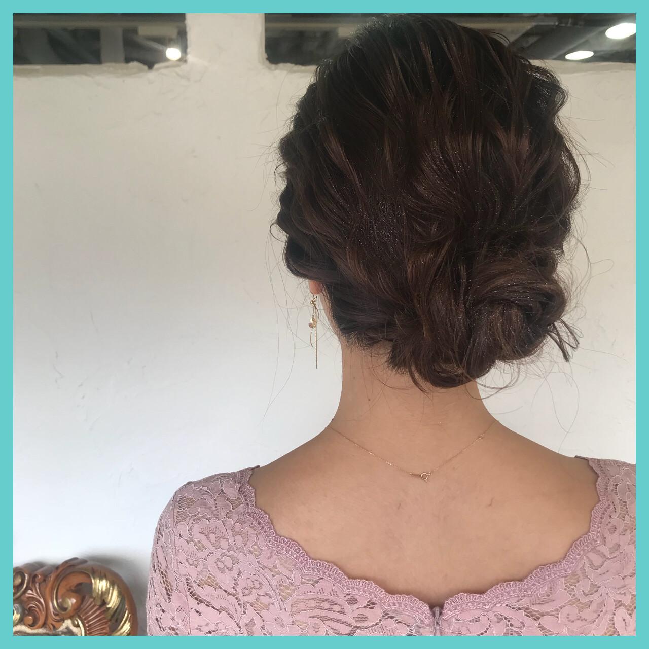 ナチュラル ロング 簡単ヘアアレンジ 成人式 ヘアスタイルや髪型の写真・画像 | aya / RITA&Co.大宮東口店