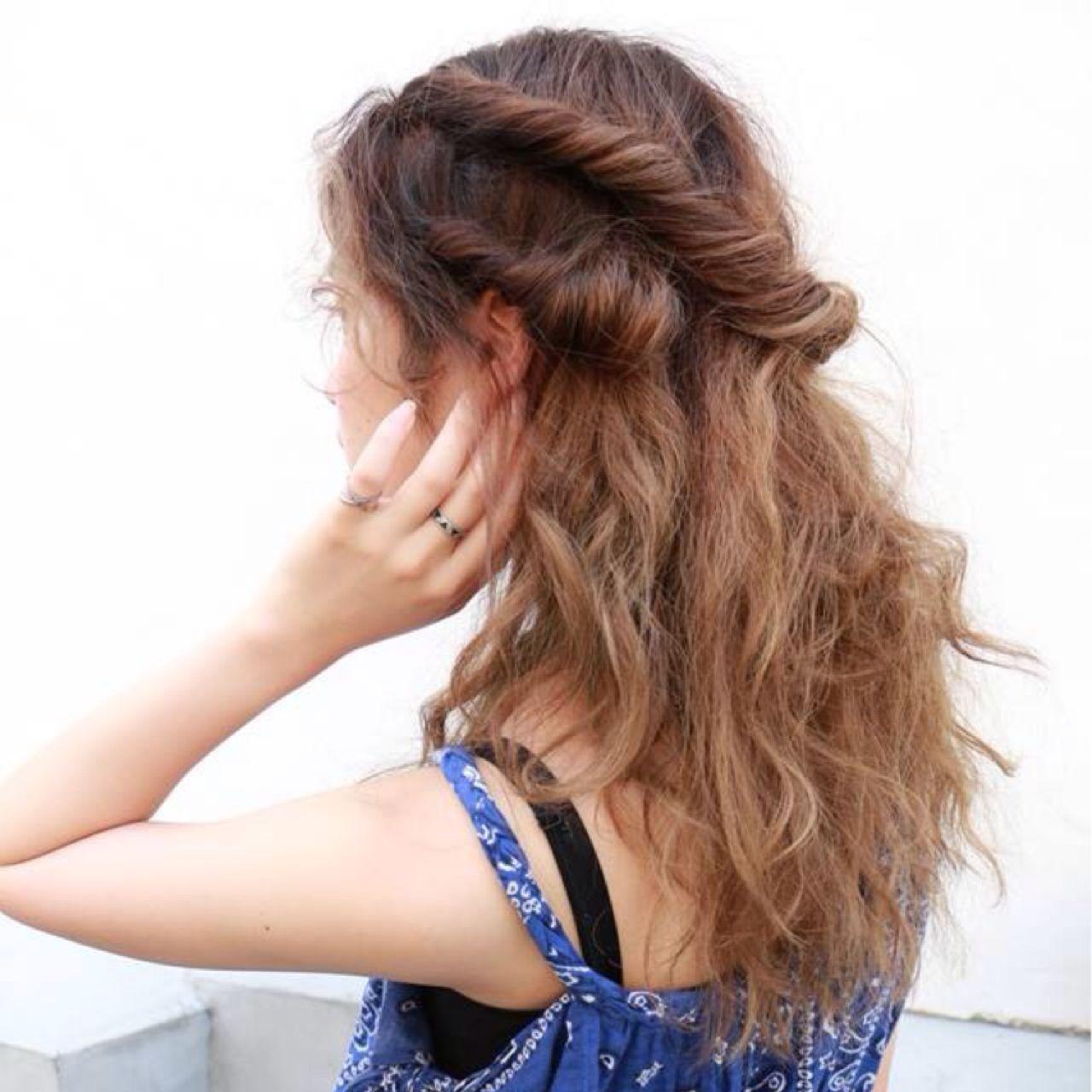 モテ髪 三つ編み ストレート ストリート ヘアスタイルや髪型の写真・画像   高橋 忍 / nanuk渋谷店(ナヌーク)