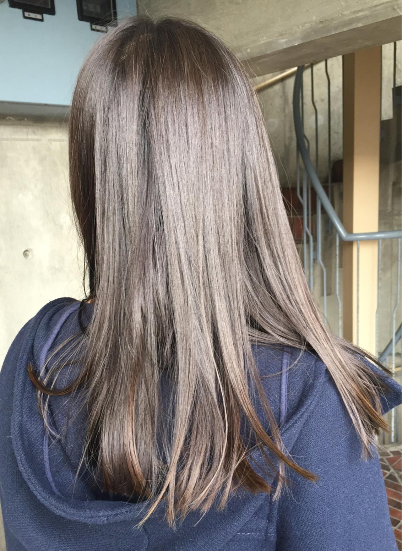 冬 秋 ロング モード ヘアスタイルや髪型の写真・画像