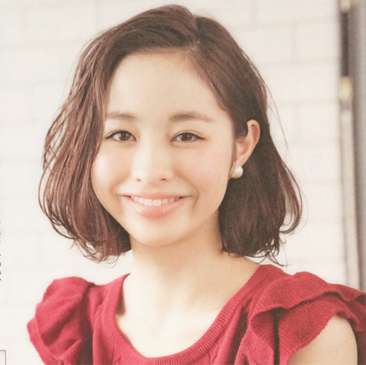 大人かわいい 暗髪 ゆるふわ ミディアム ヘアスタイルや髪型の写真・画像 | UEKI/nanuk / nanuk二子玉川