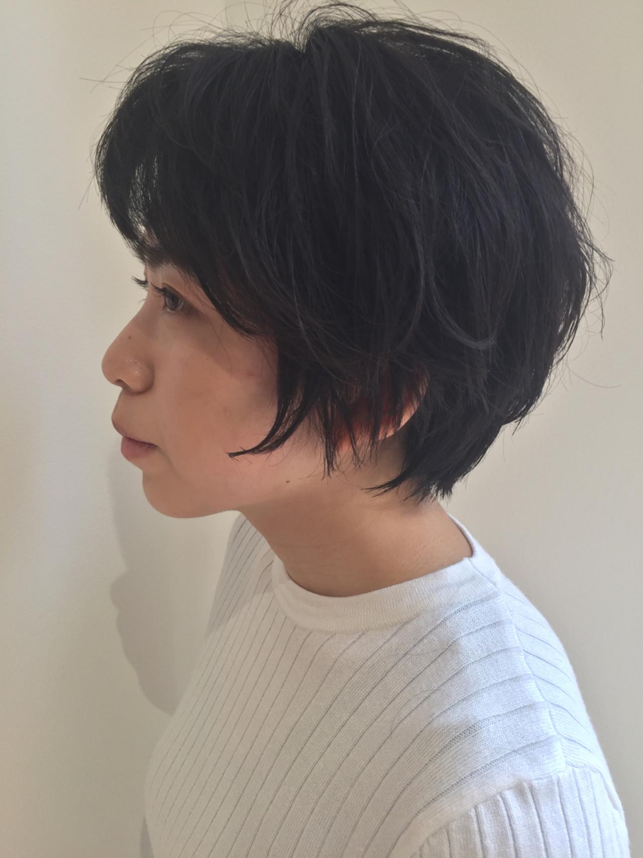 ウェーブ ナチュラル パーマ 黒髪 ヘアスタイルや髪型の写真・画像
