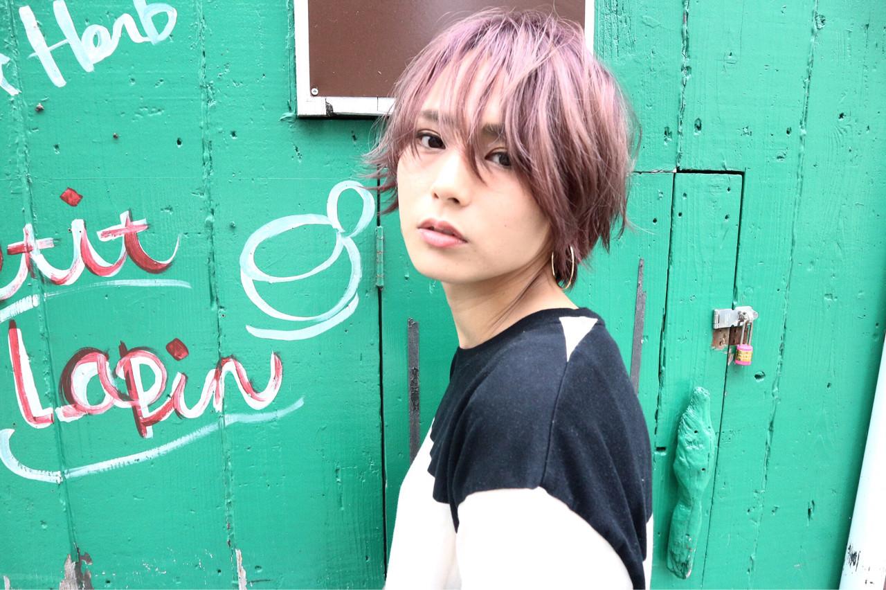 ほんのりピンクにきゅんとする。愛され「ラベンダーアッシュ」のヘアスタイルまとめ  Takashi Tetone