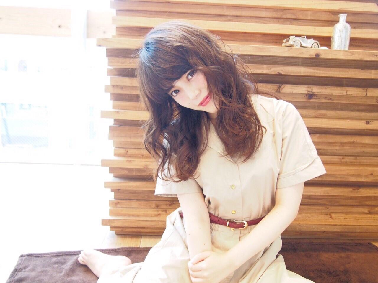 かわいい 大人かわいい ナチュラル モテ髪 ヘアスタイルや髪型の写真・画像 | 山田 あかり /