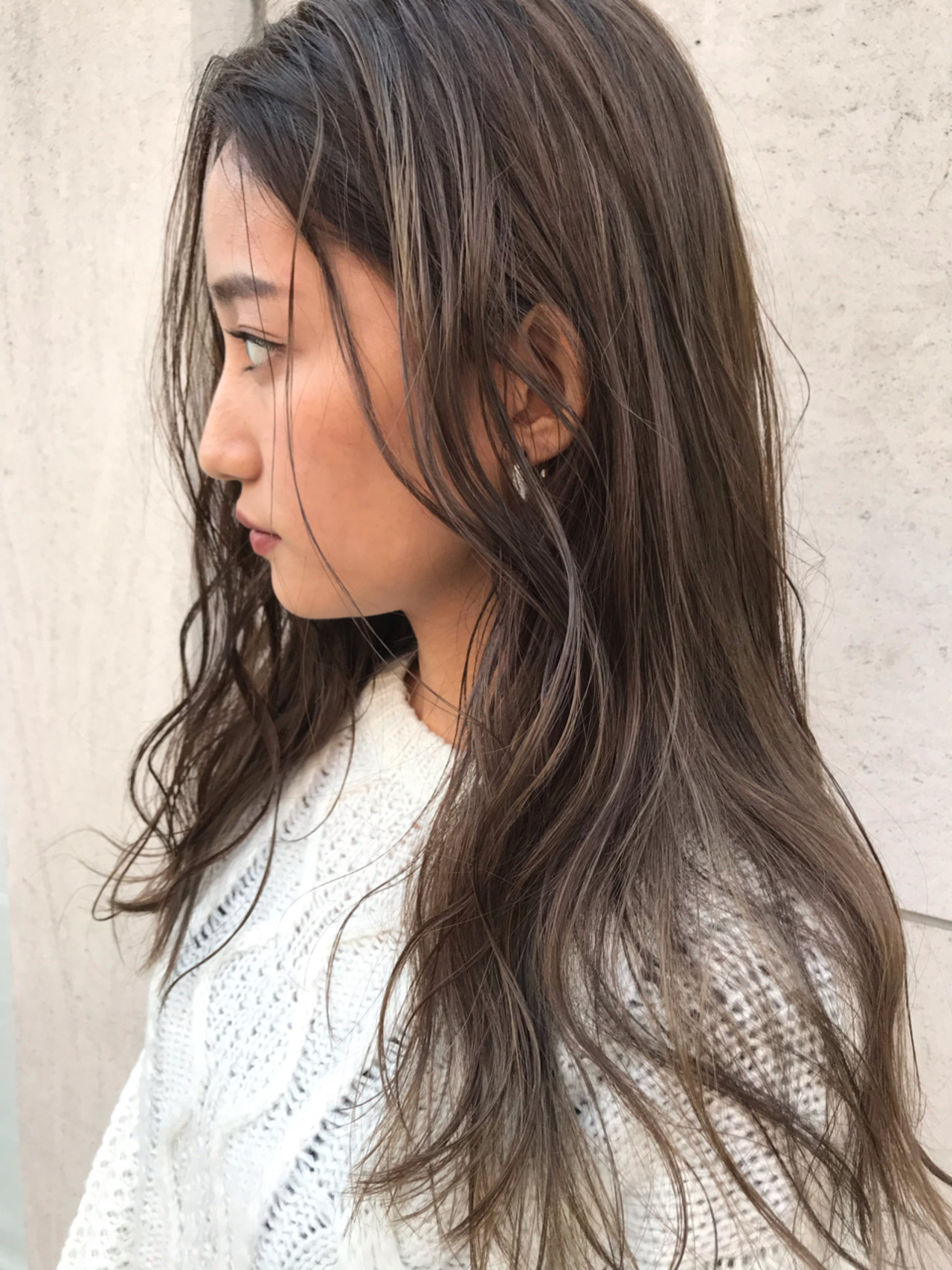 ロング ウェーブ ニュアンス 外国人風 ヘアスタイルや髪型の写真・画像
