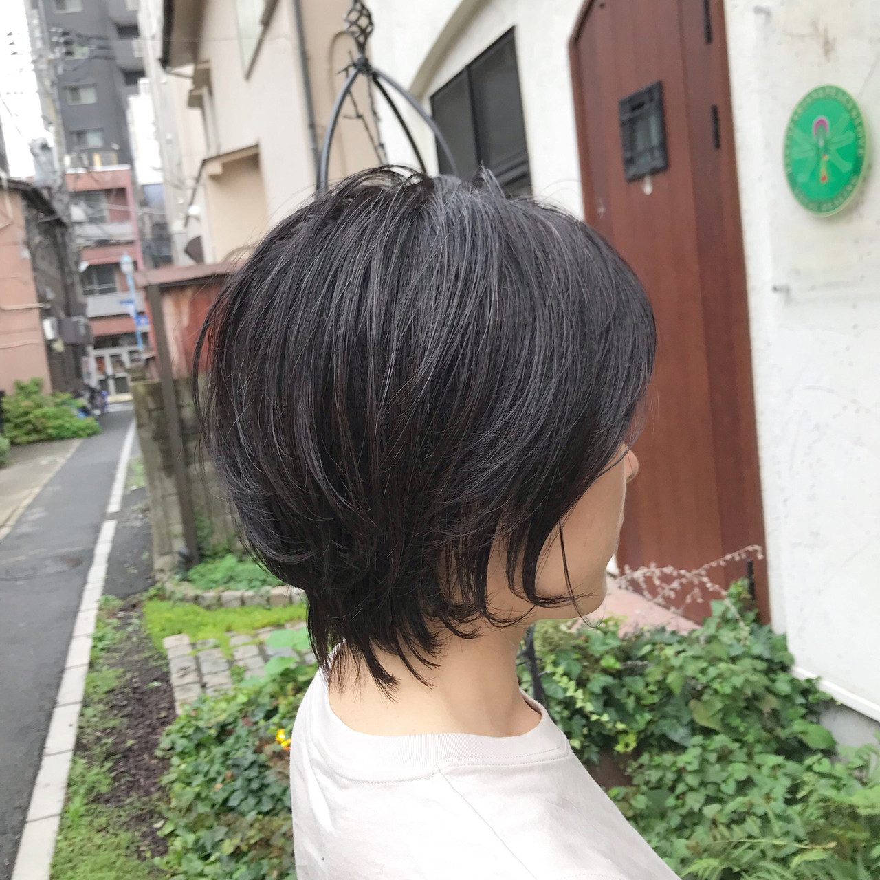 マッシュショート ベリーショート ショート ショートボブ ヘアスタイルや髪型の写真・画像