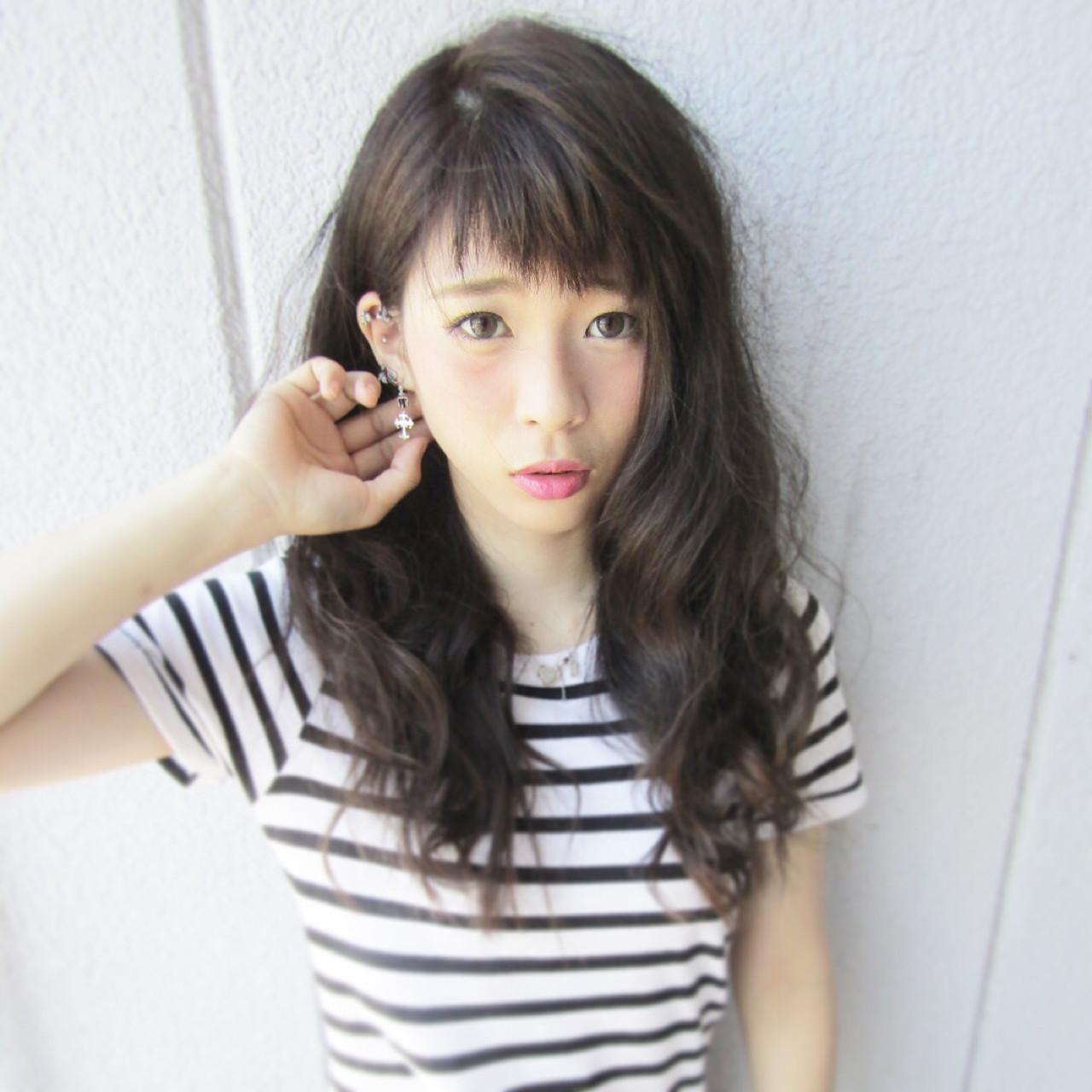 色気 ストリート 暗髪 アッシュ ヘアスタイルや髪型の写真・画像 | yasu / s2