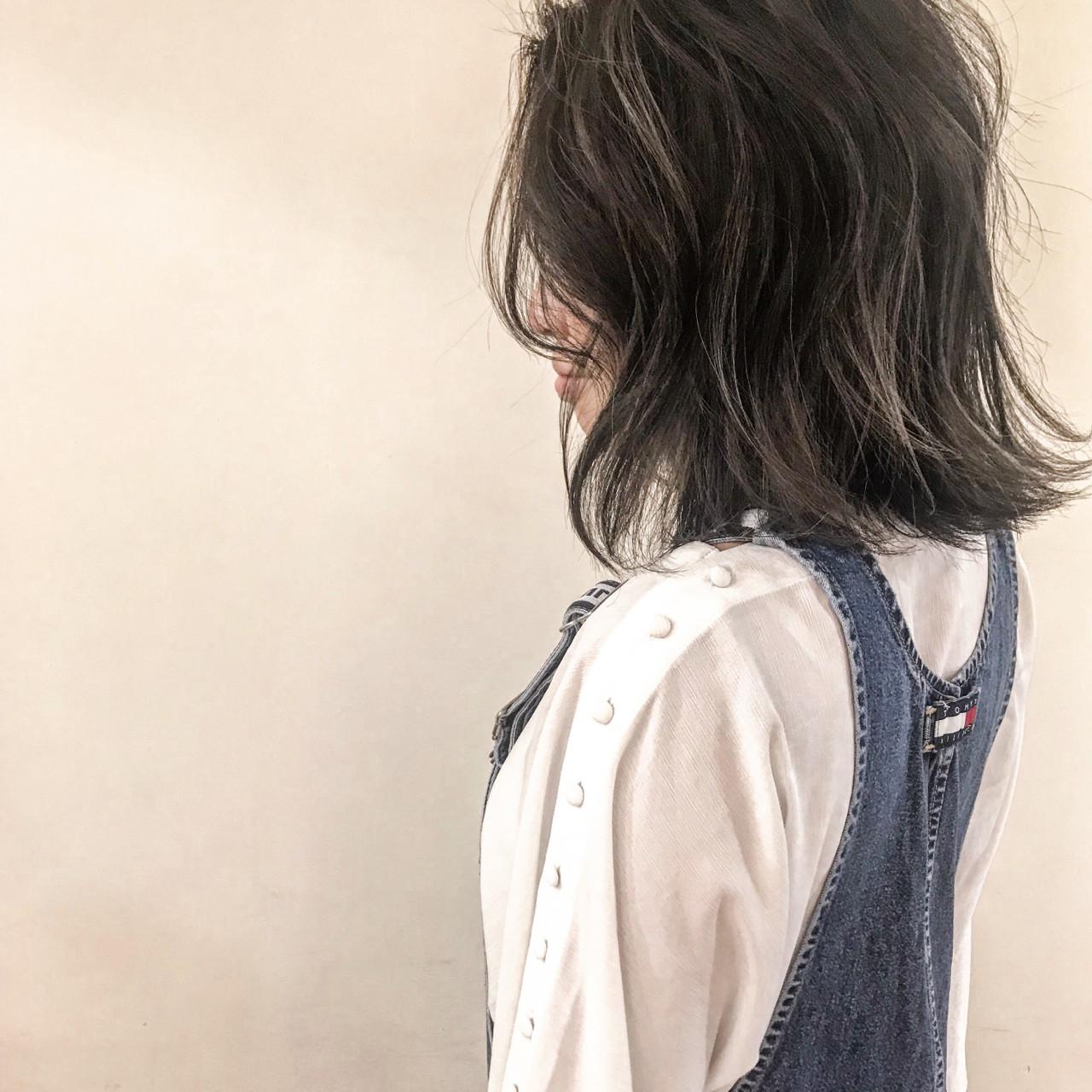 ナチュラル 前髪あり ボブ フェミニン ヘアスタイルや髪型の写真・画像