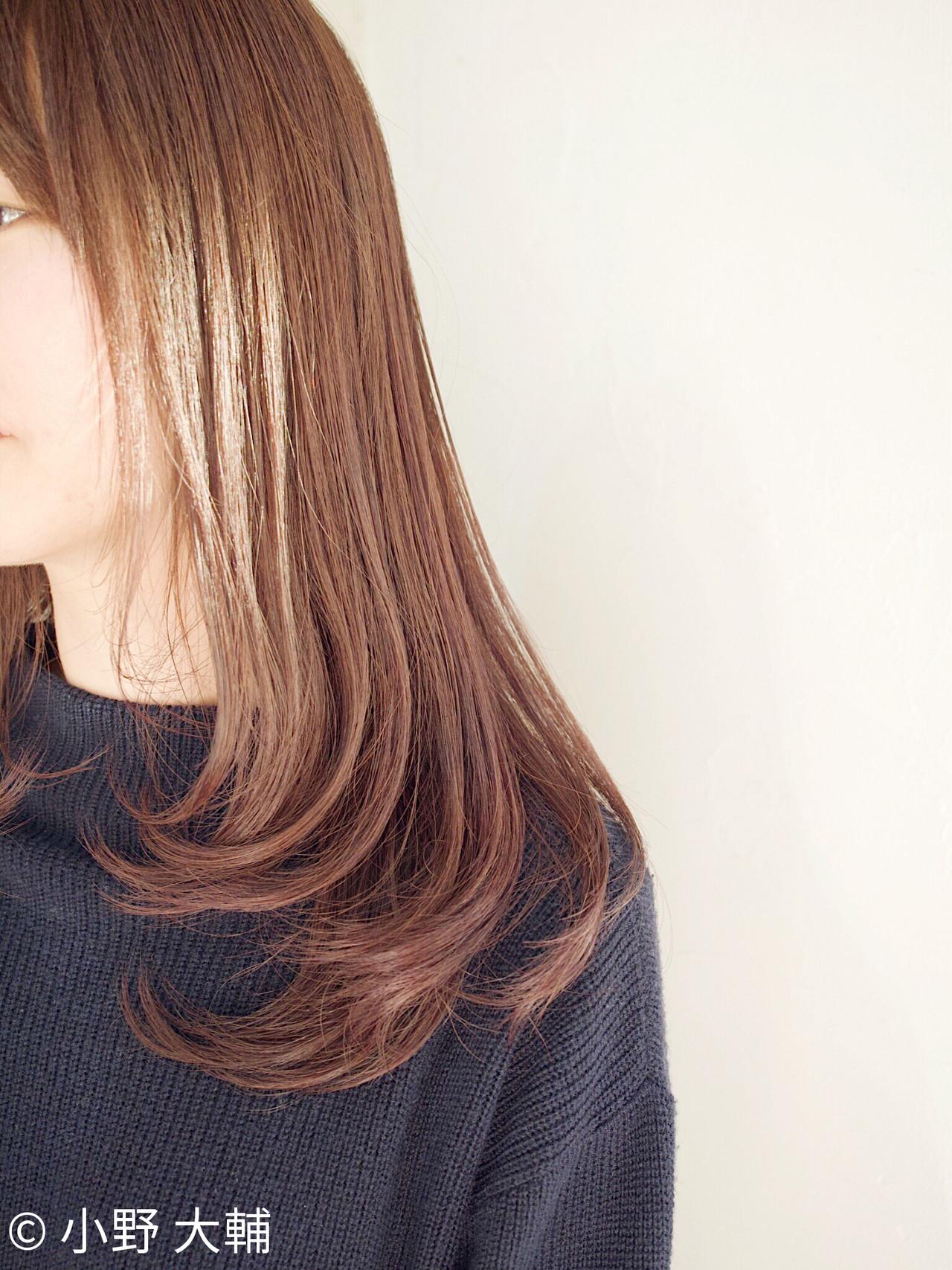 切りっぱなしボブ ラベンダーグレージュ ミルクティーベージュ ラベンダーアッシュ ヘアスタイルや髪型の写真・画像   小野 大輔 / OHIA  for plumeria