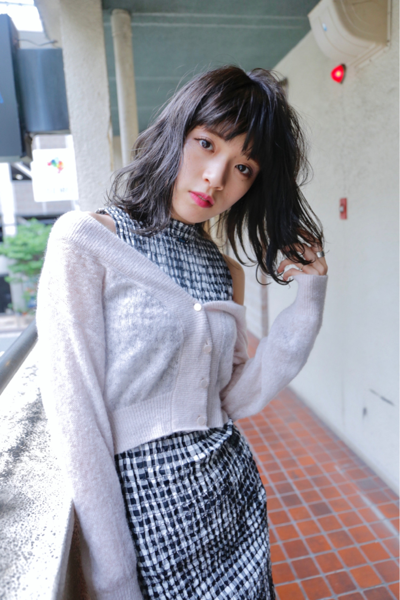 バレイヤージュ ロブ ウェーブ ナチュラル ヘアスタイルや髪型の写真・画像 | Ryota Yamamoto Daisy / Daisy