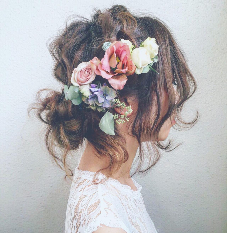 ウエディングドレス向けヘアスタイル♡人生で1番美しい私になれる髪型10選