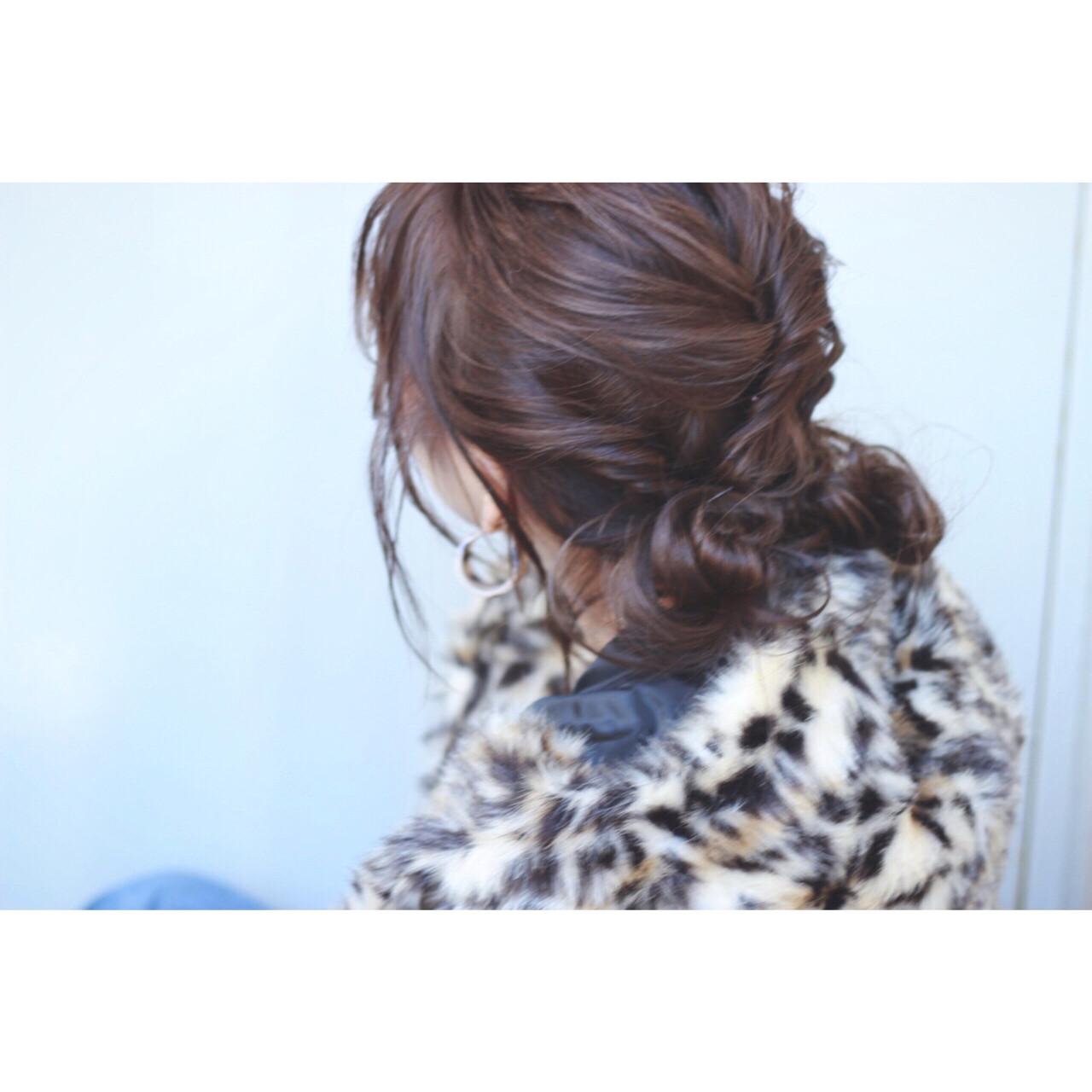 簡単ヘアアレンジ うざバング ストリート ショート ヘアスタイルや髪型の写真・画像