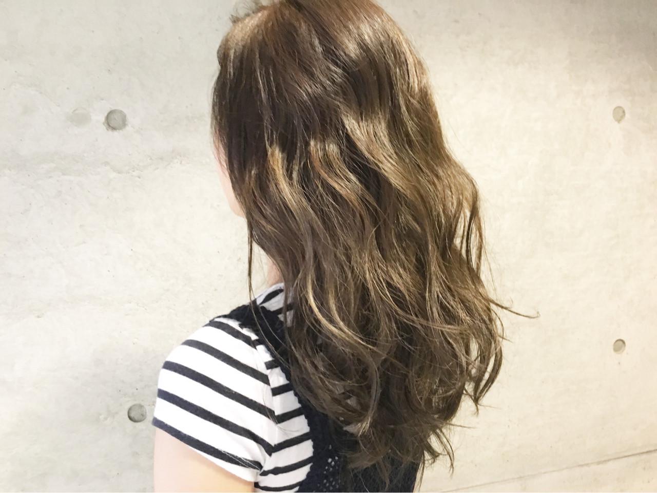 アッシュ ミディアム ナチュラル ブラウン ヘアスタイルや髪型の写真・画像 | Sayaka / diptyMOILA