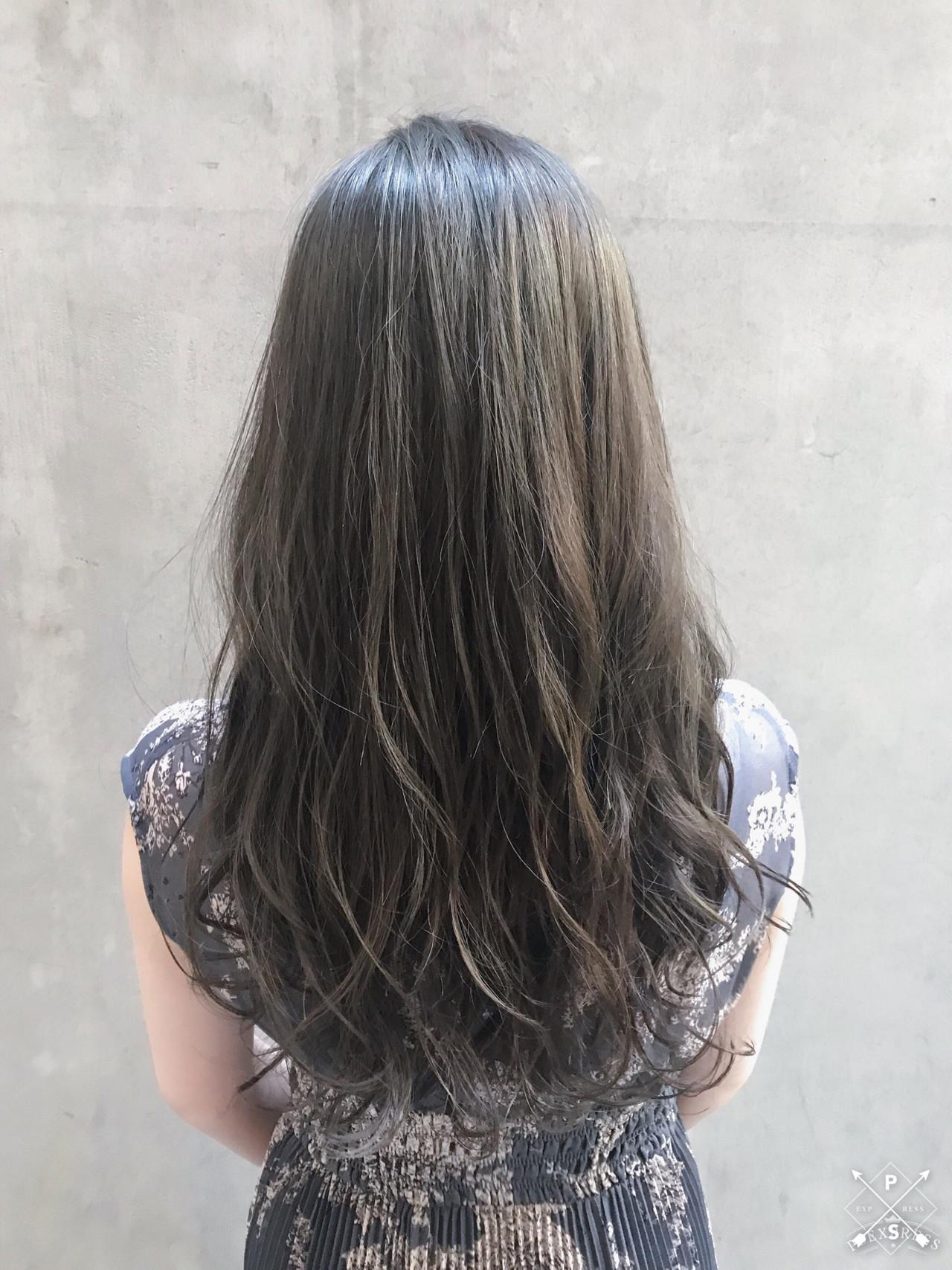 透明感カラー ロング ナチュラル アンニュイほつれヘア ヘアスタイルや髪型の写真・画像   Tierra / 町田雄一 / Tierra harajuku