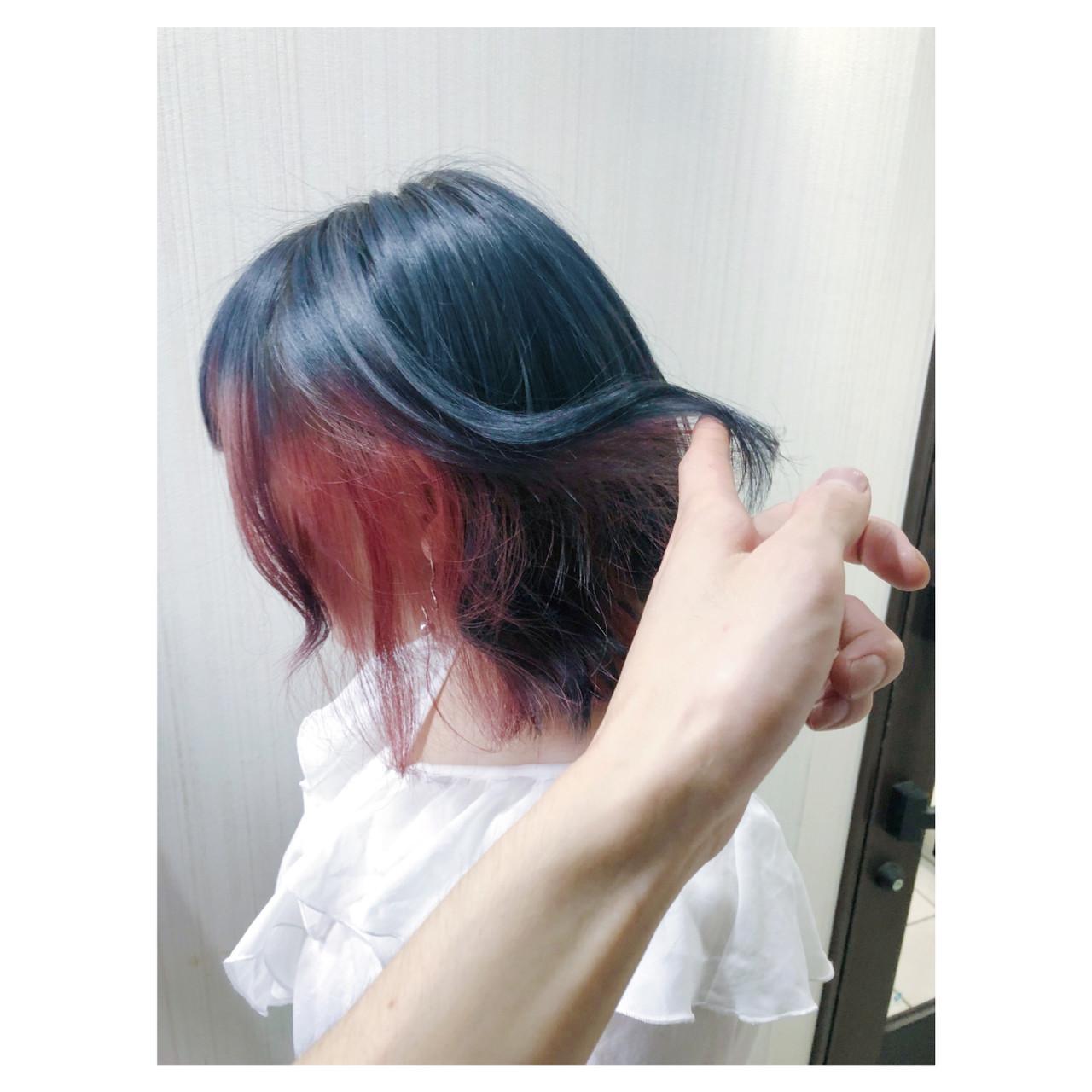 ミディアム フェミニン 簡単ヘアアレンジ ヘアアレンジ ヘアスタイルや髪型の写真・画像