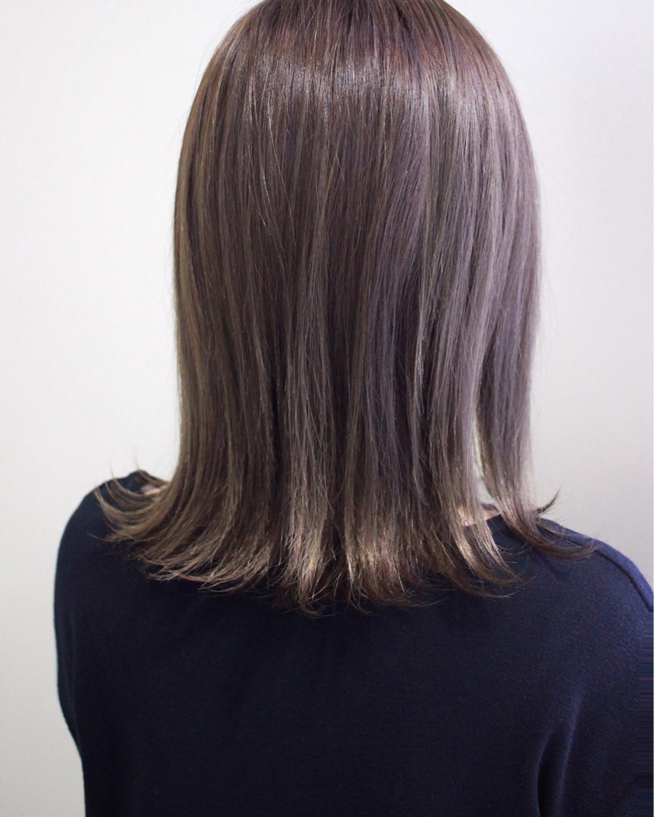 ボブ 外ハネ 外国人風カラー ハイライト ヘアスタイルや髪型の写真・画像 | 西川 諒 / OSHARE DOROBO seed